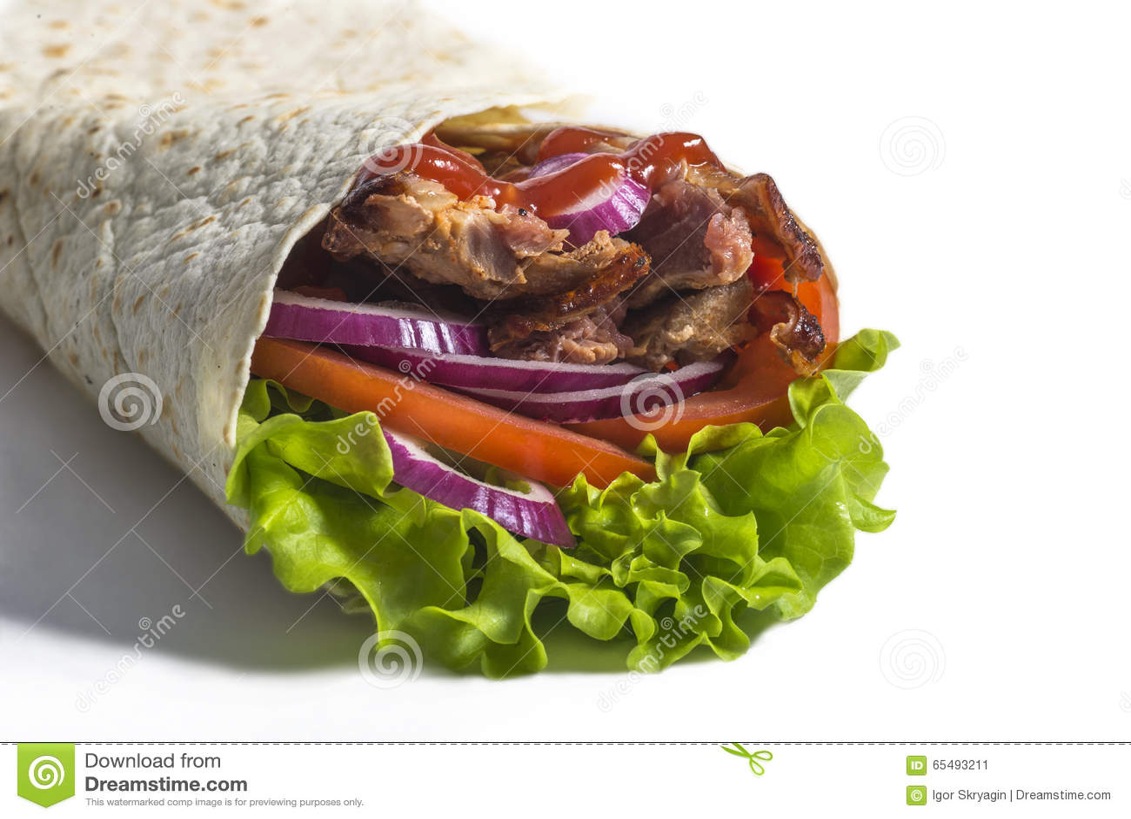 Soczysty kebab