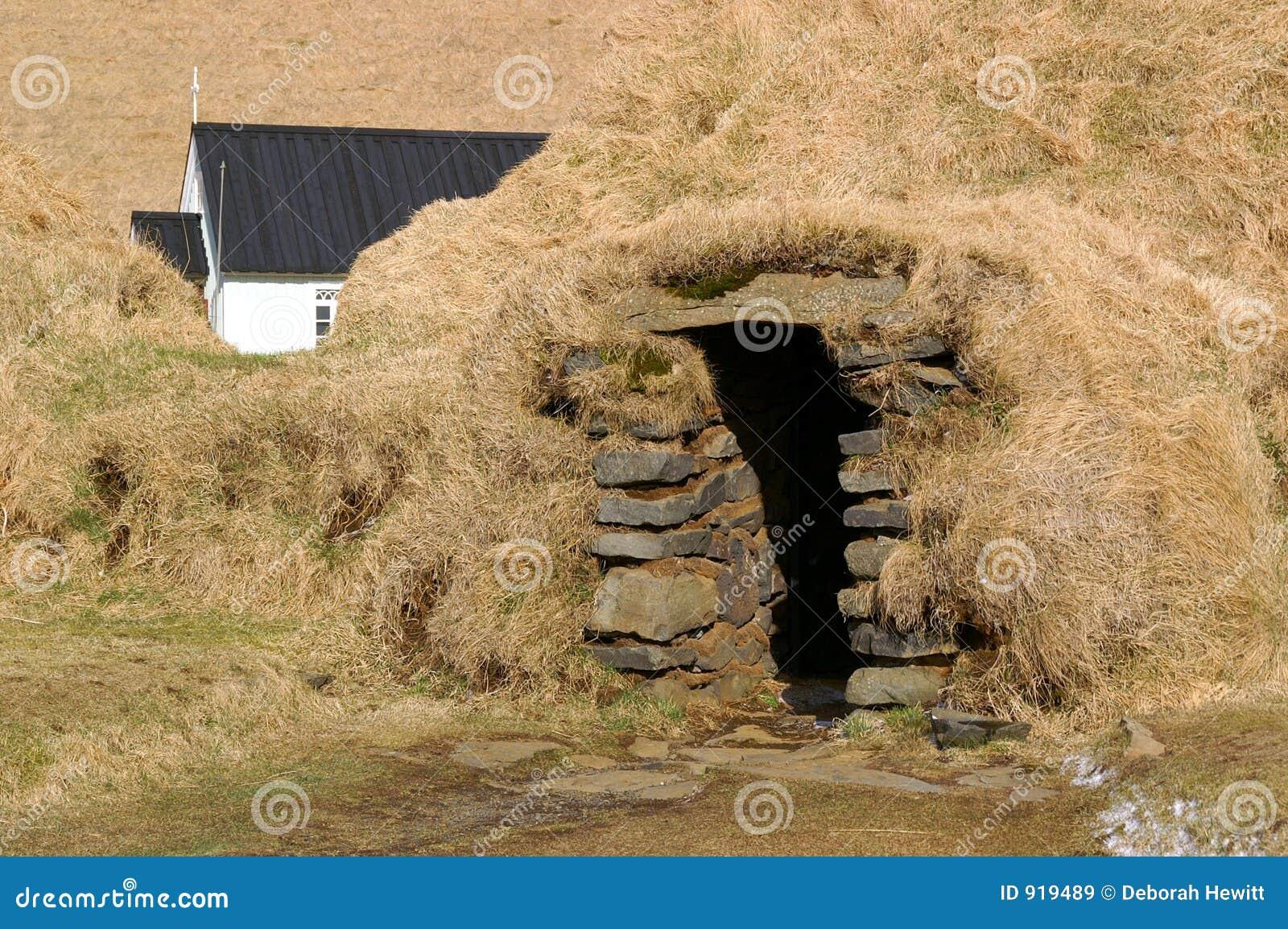Sod Исландии дома