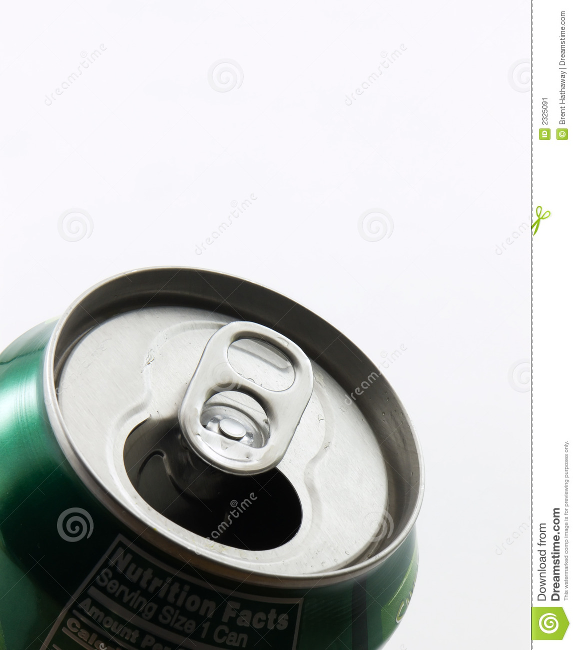 Soda Can Top Stock Image. Image Of Refreshments, Fizzy