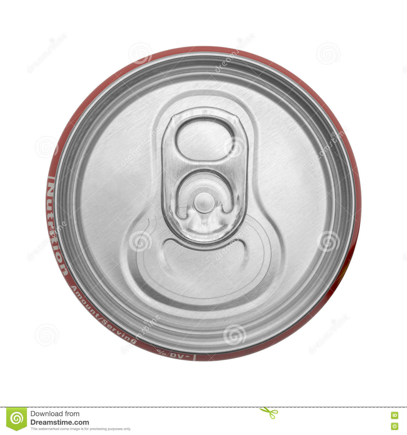 Soda Can Top Stock Image. Image Of Object, Canister