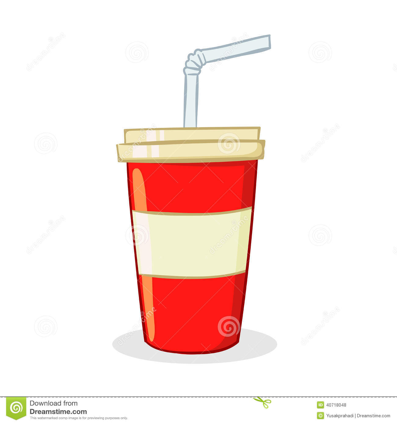 Soda Drink Cup Stock Vector - Image: 40718048