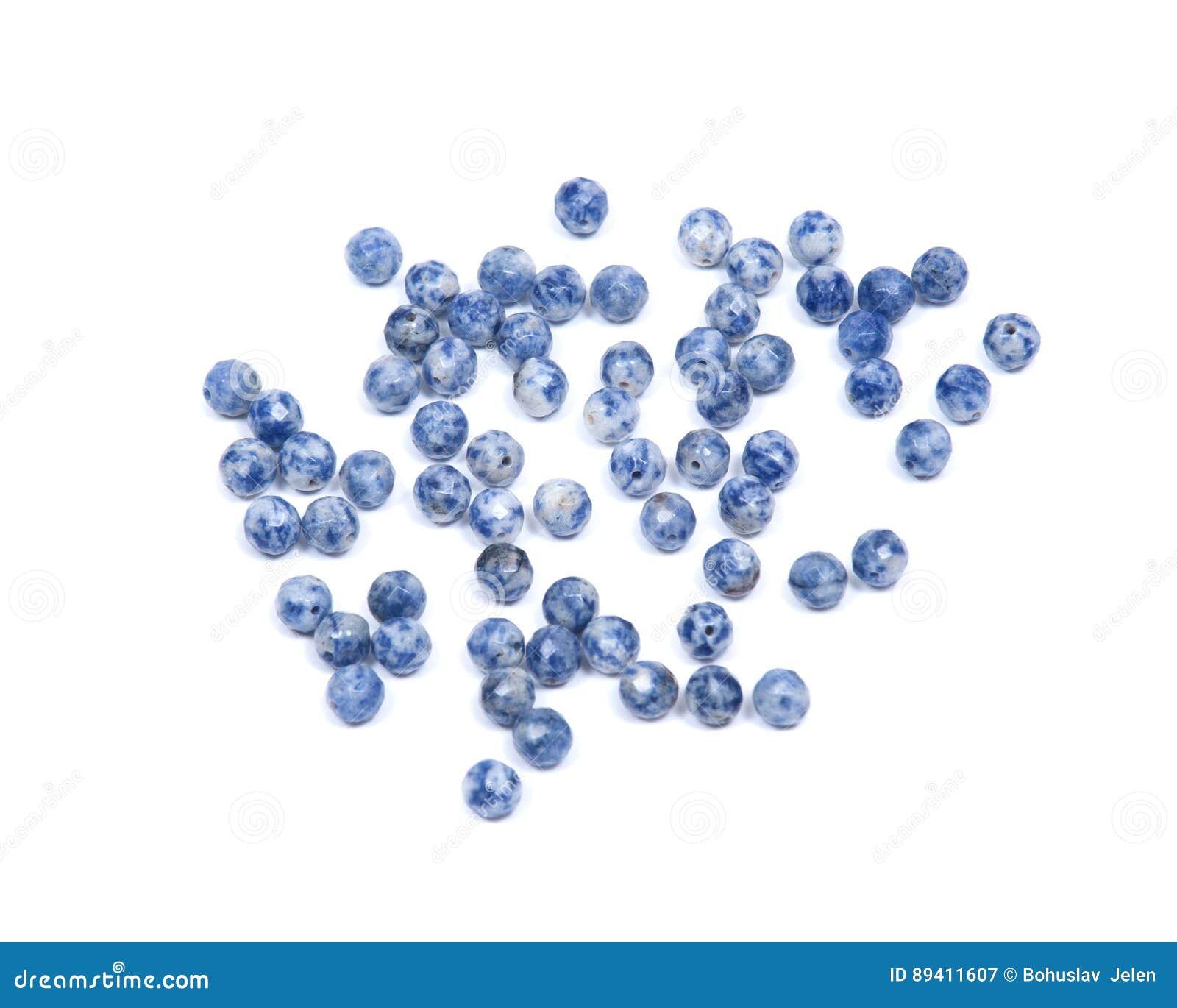 Sodalite azul e branco
