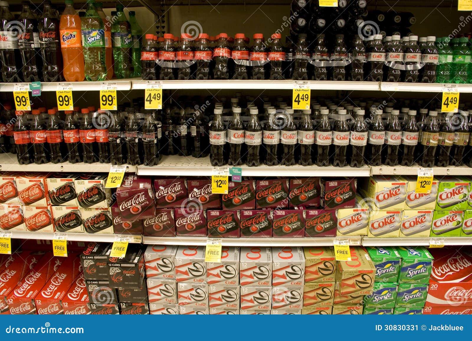 Sode in supermercato