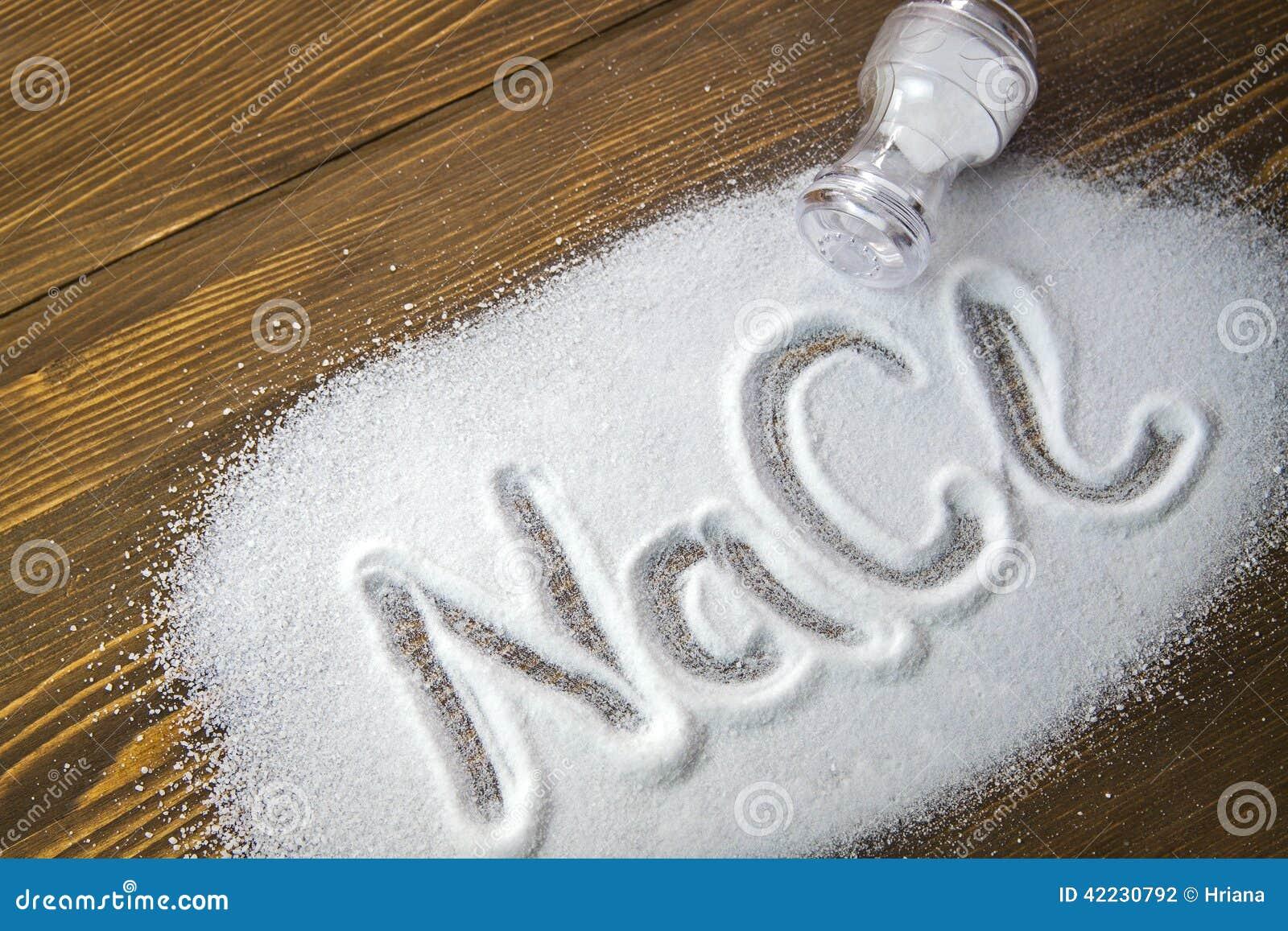 Sodium chlorek - sól