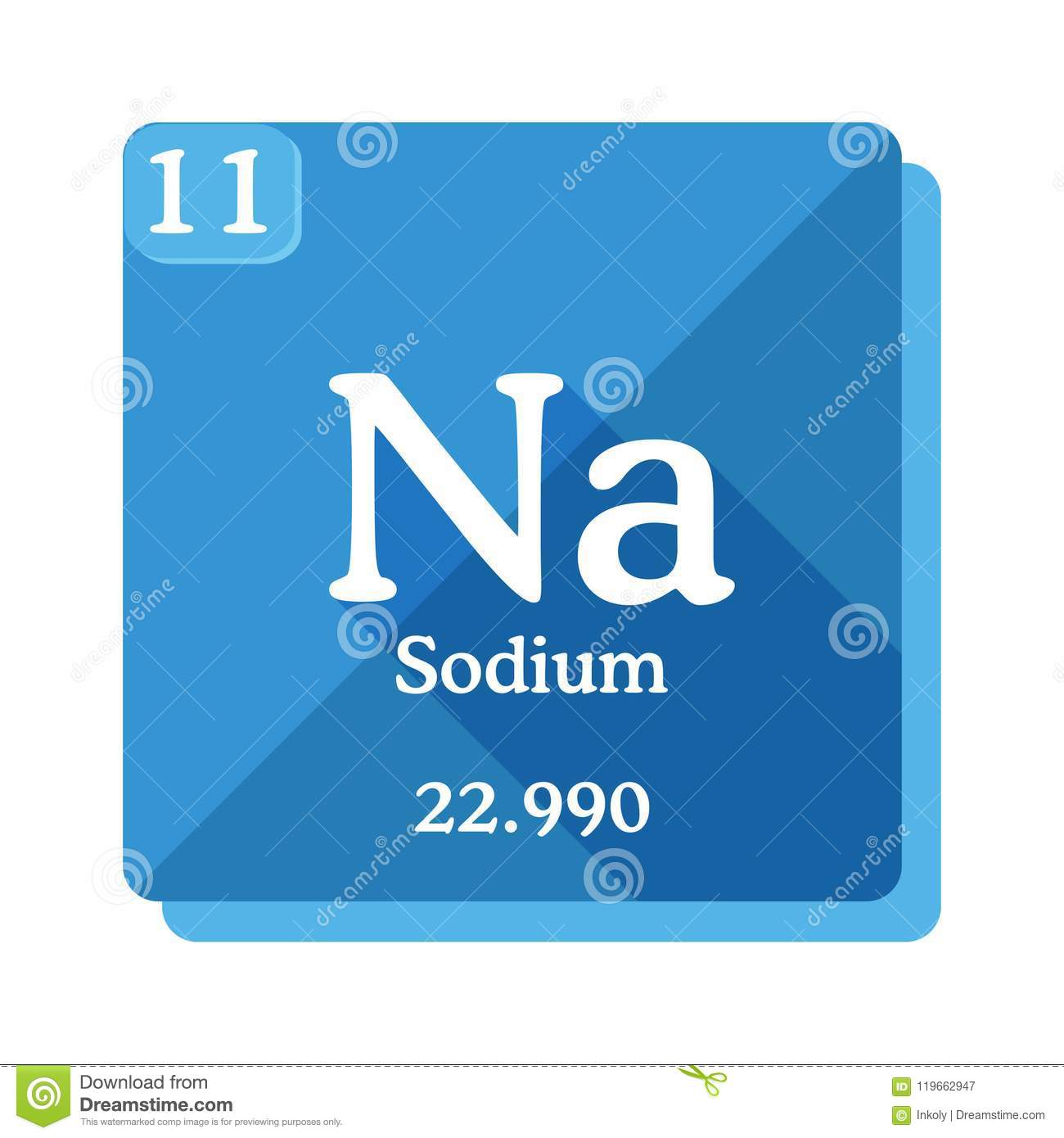 Sodium chemical element periodic table of the elements stock download sodium chemical element periodic table of the elements stock illustration illustration of urtaz Image collections