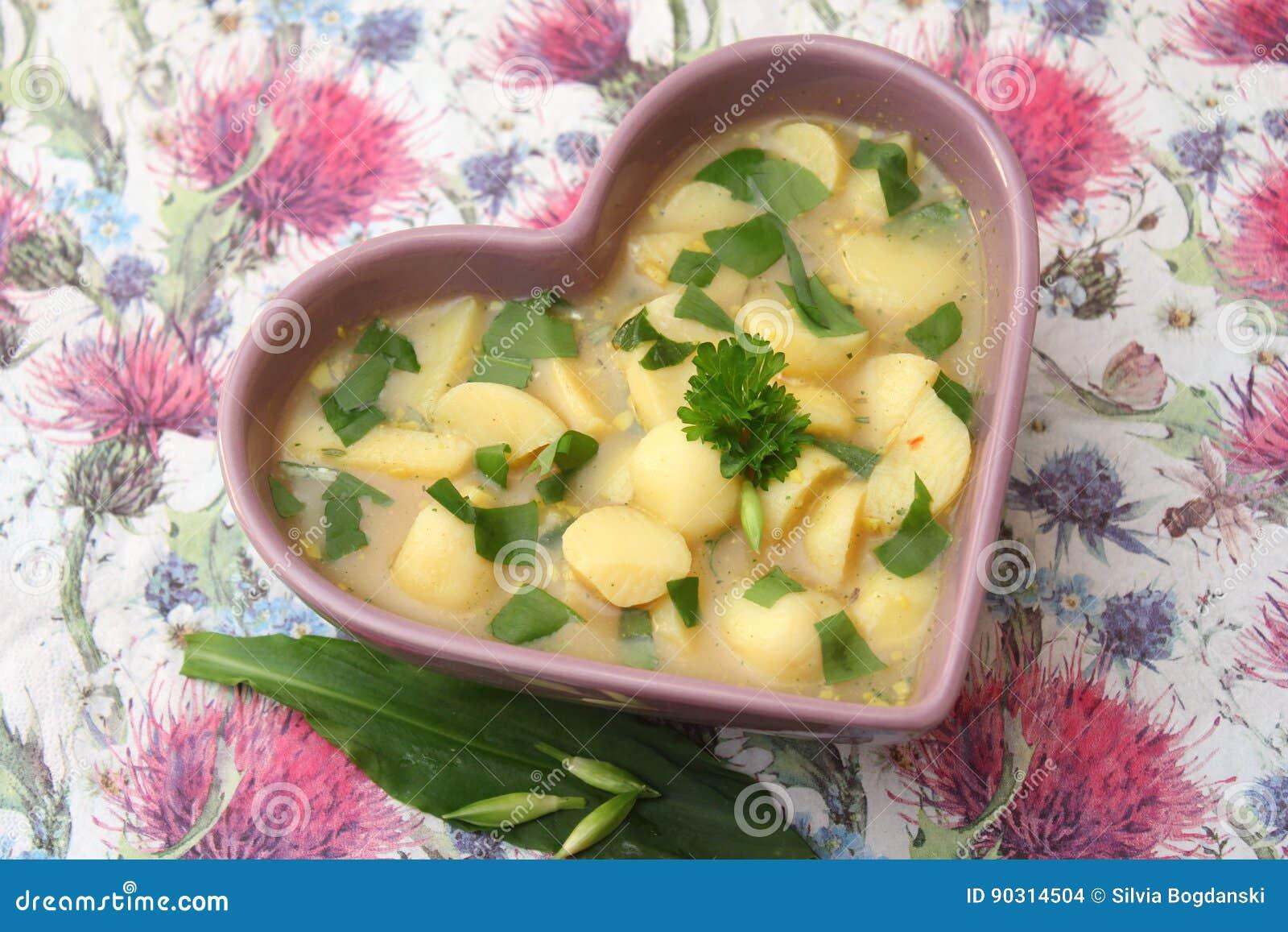 Soep van aardappels