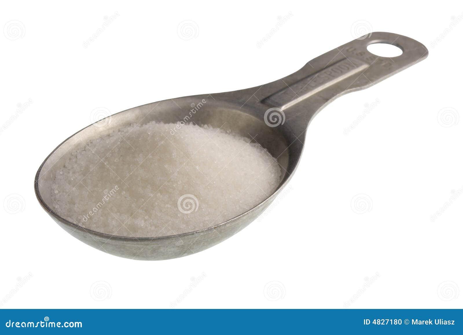 Soeplepel van zout