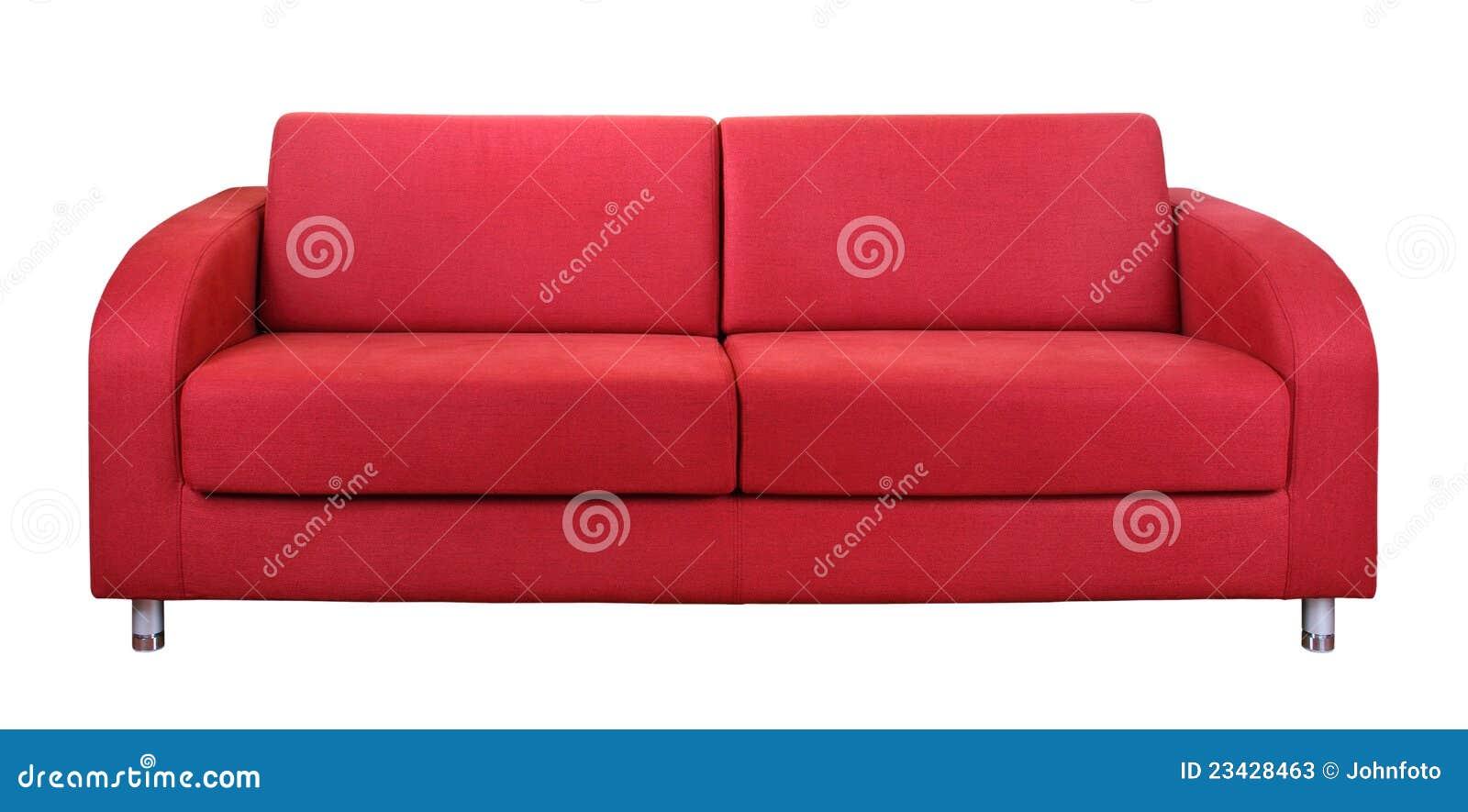 Sofà rosso