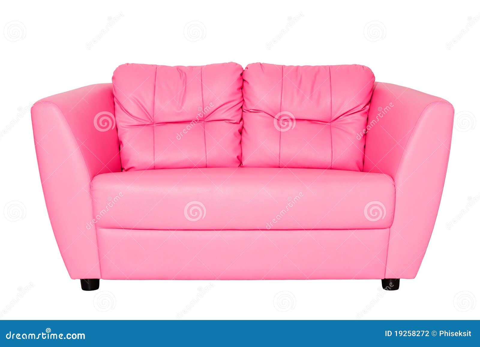 sof cor de rosa fotografia de stock imagem 19258272. Black Bedroom Furniture Sets. Home Design Ideas