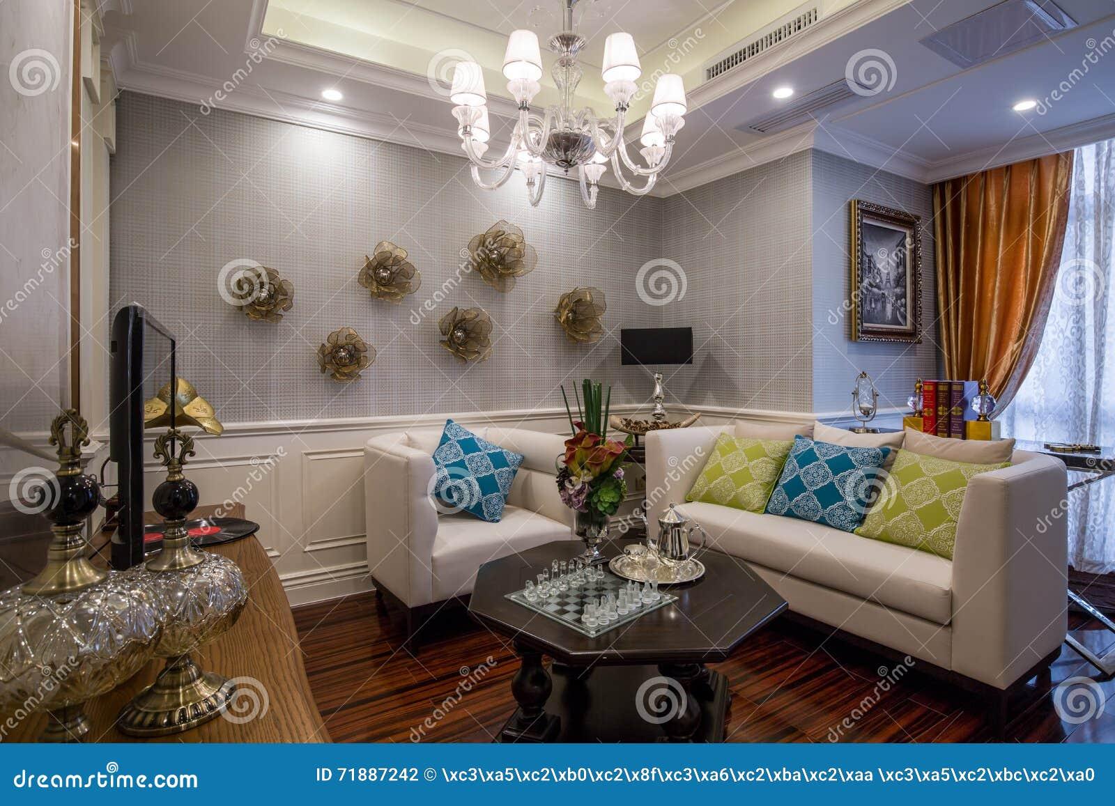 Sofa à La Maison Intérieur De Luxe Moderne De Salon De Salon
