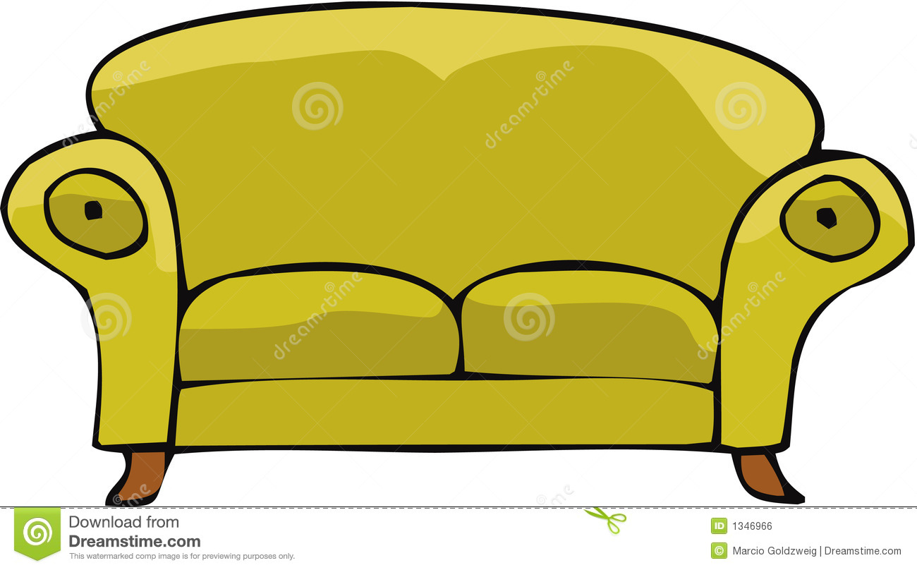 Sofa 02 Royalty Free Stock Image - Image: 1346966
