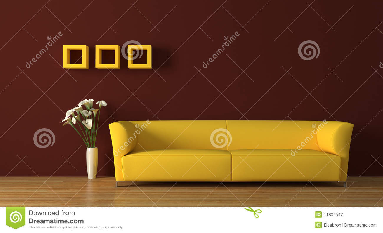 sofa lizenzfreie stockfotografie bild 11809547. Black Bedroom Furniture Sets. Home Design Ideas