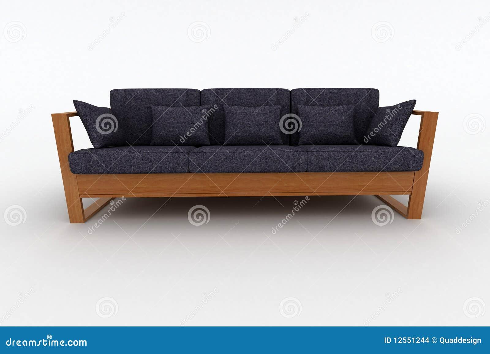 sofa stock abbildung bild von leben m bel bequem konferenz 12551244. Black Bedroom Furniture Sets. Home Design Ideas