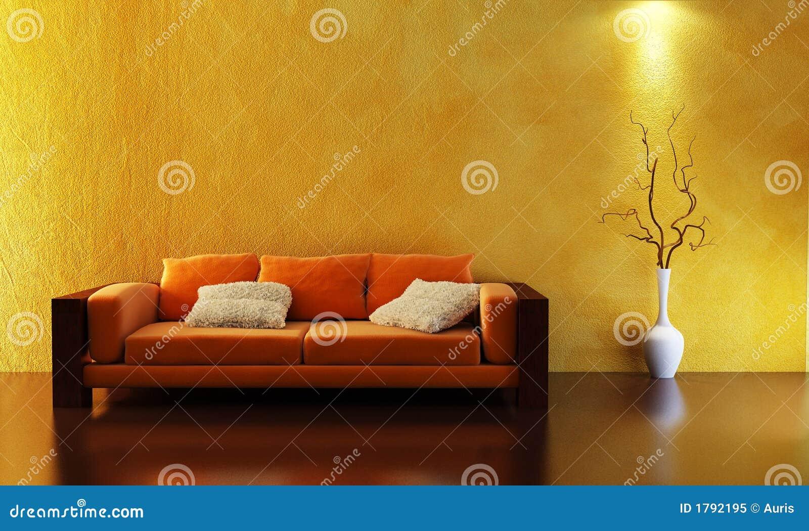 Sofa för framförande 3d