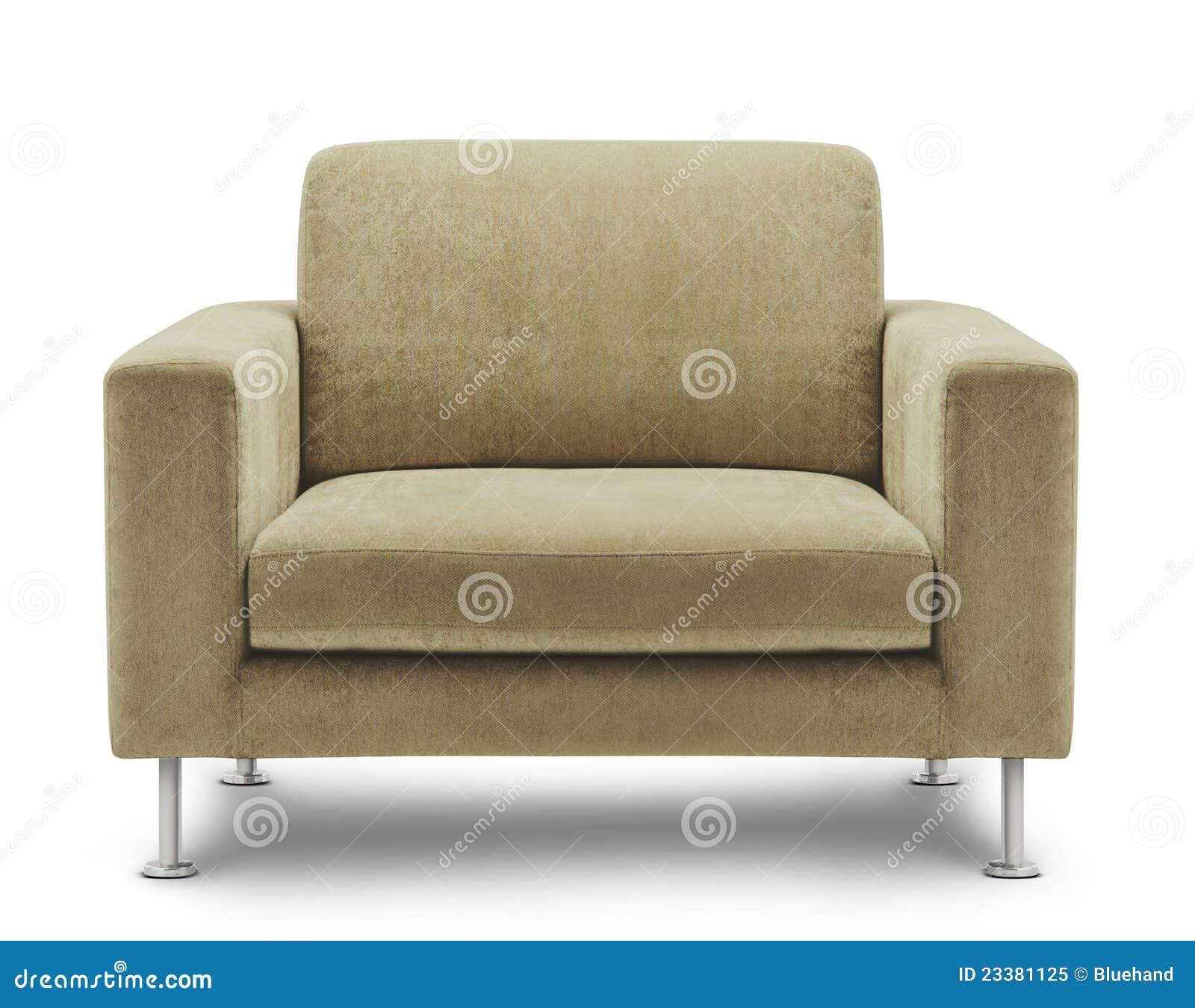 Sofa Furniture On White Background Stock Image Image Of