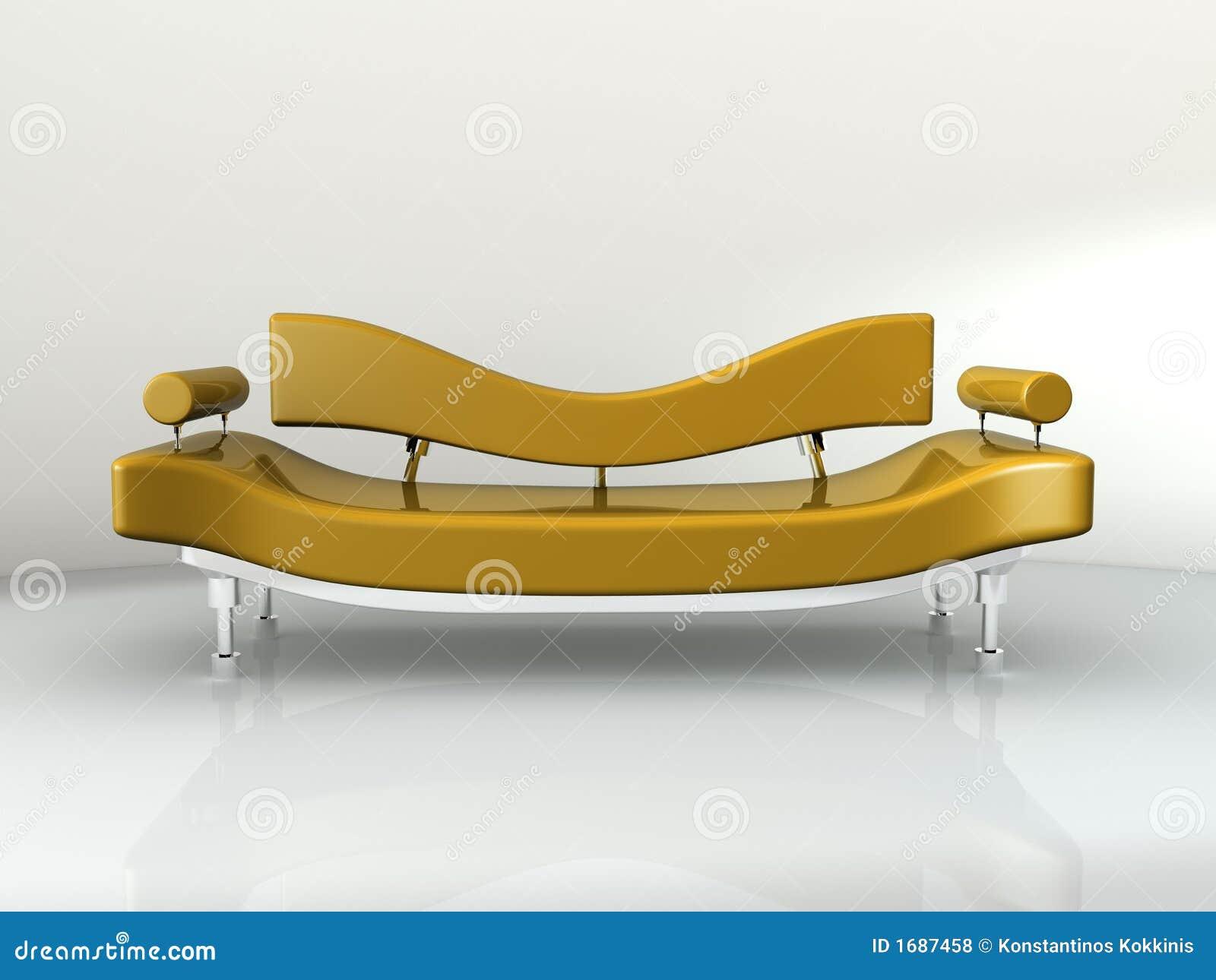 Sofa-Konzept-Auslegung