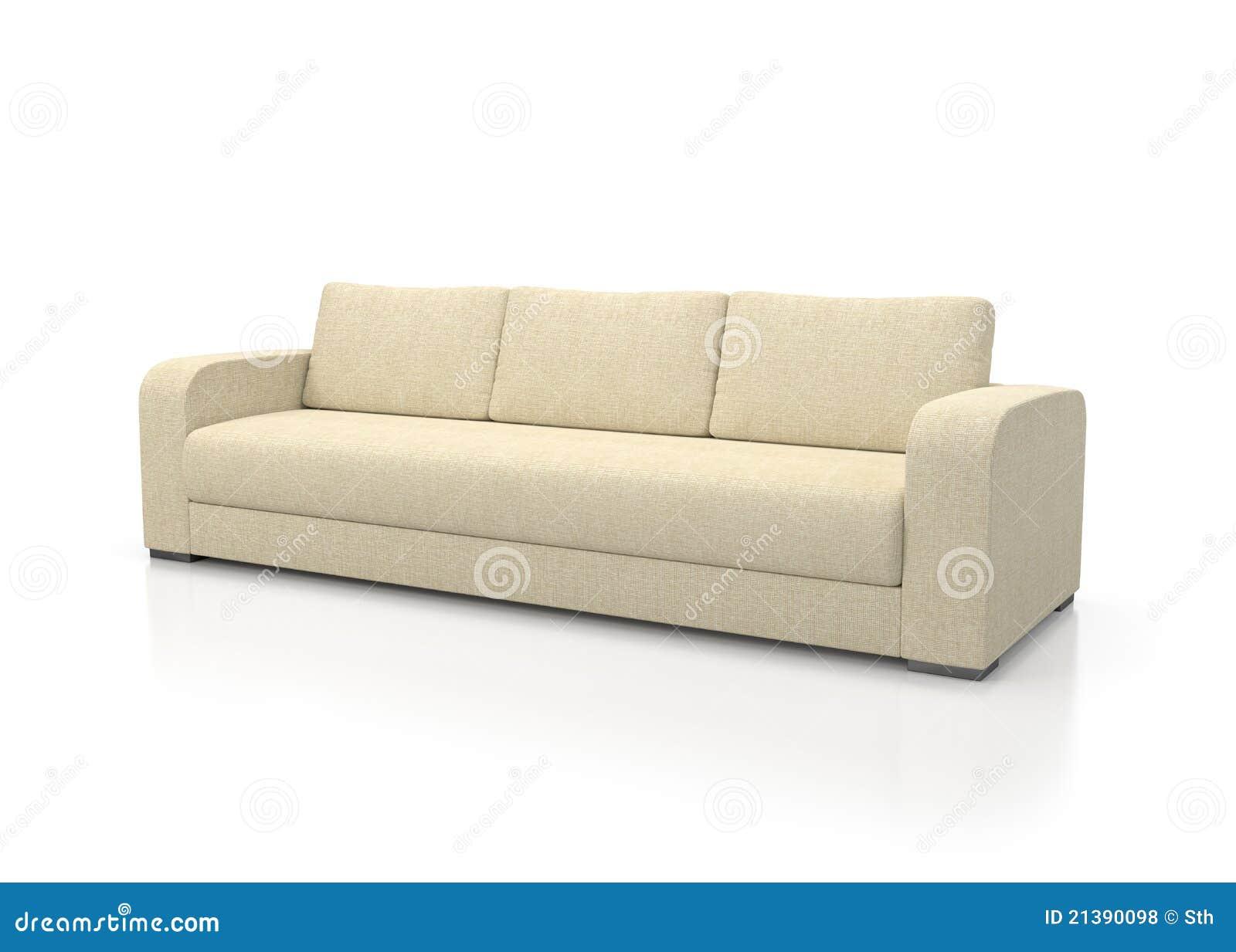 sofa moderne photos libres de droits image 21390098. Black Bedroom Furniture Sets. Home Design Ideas