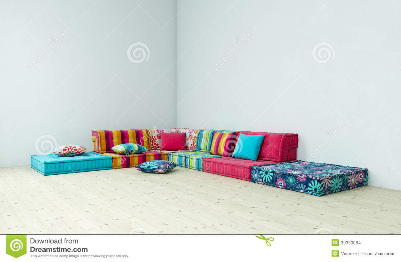 sofa hippie stock illustration   image 39330064