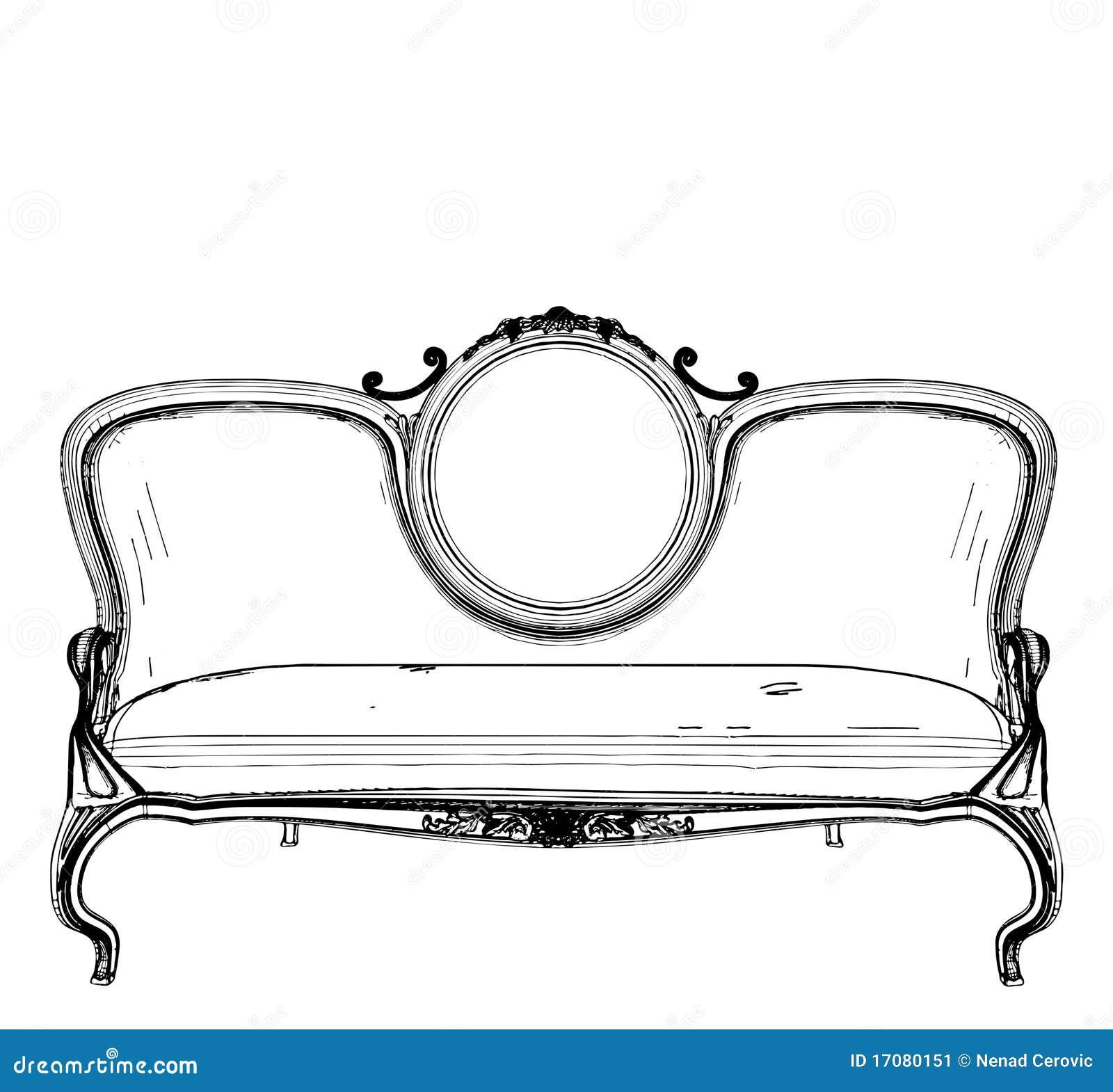 Sofa-Vektor 13