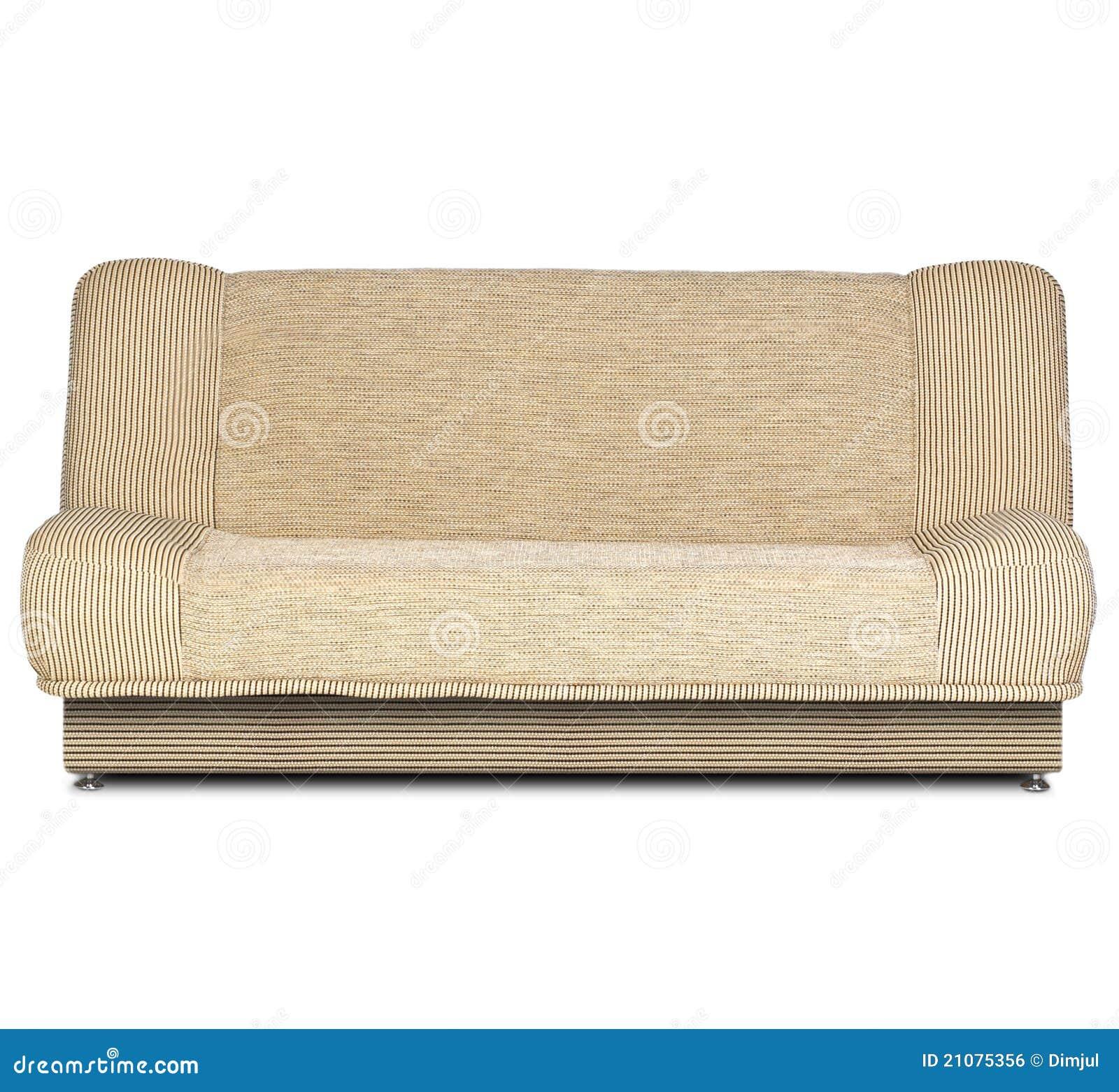 Sofa On White Royalty Free Stock Image Image 21075356