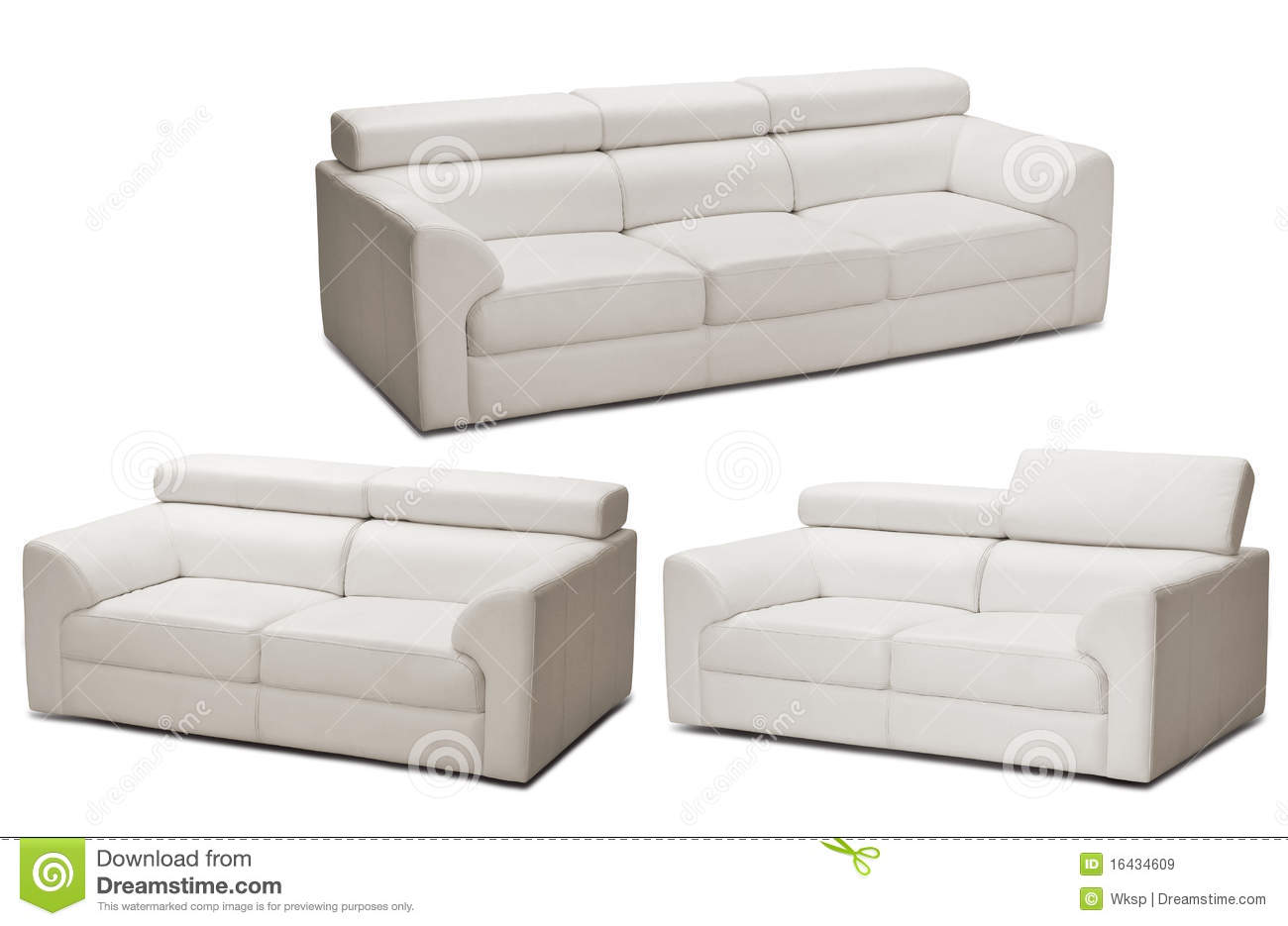 Sofas Stock Image Image Of Leather Settee Hall Simplicity 16434609