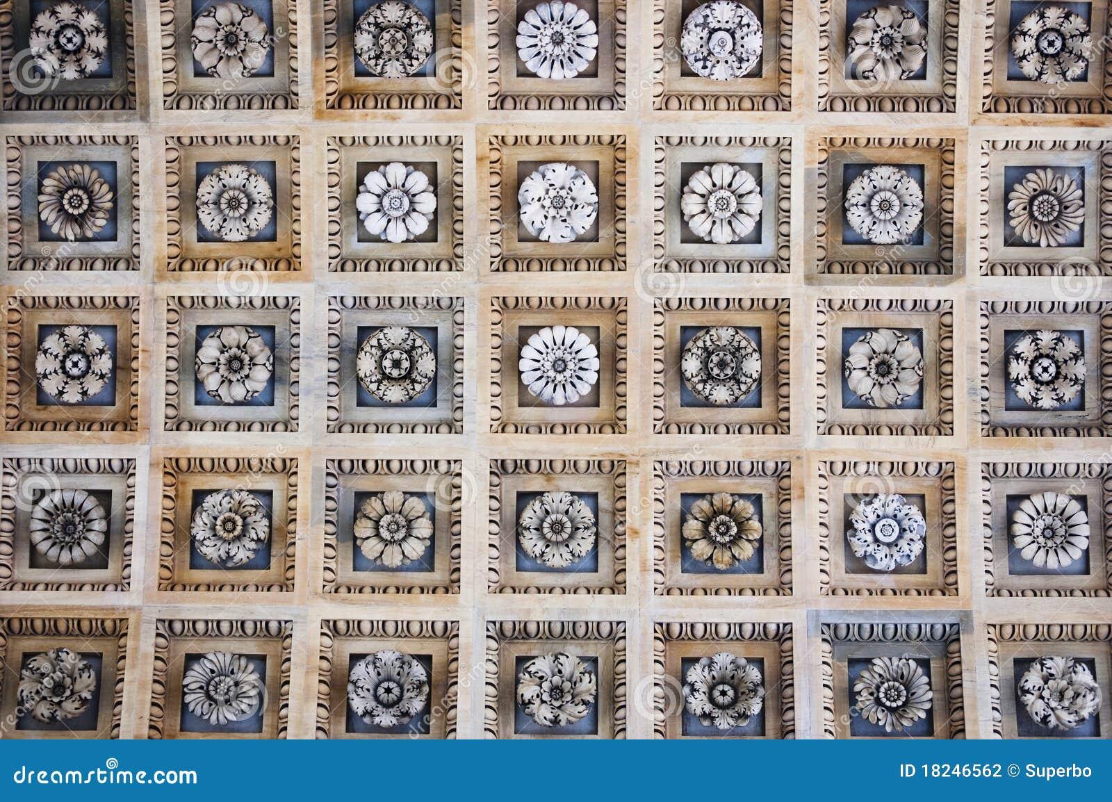 Soffitto decorativo delle mattonelle del rivestimento for Mattonelle da rivestimento