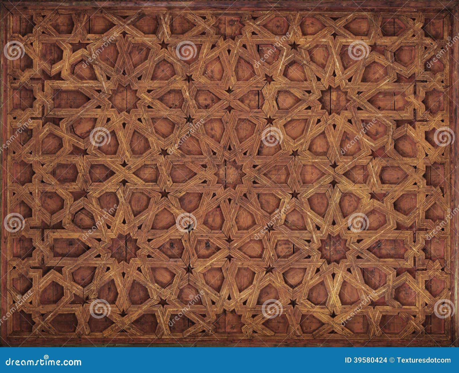Soffitto Decorato Dipinto Di Moresco Fotografia Stock - Immagine ...