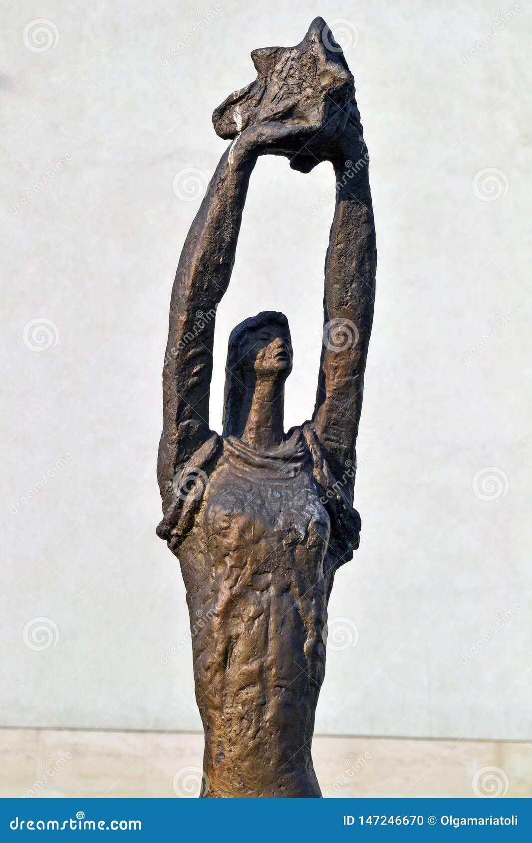 Sofia/Bulgarien - November 2017: Sowjet-?rastatue im Museum der sozialistischen Kunst