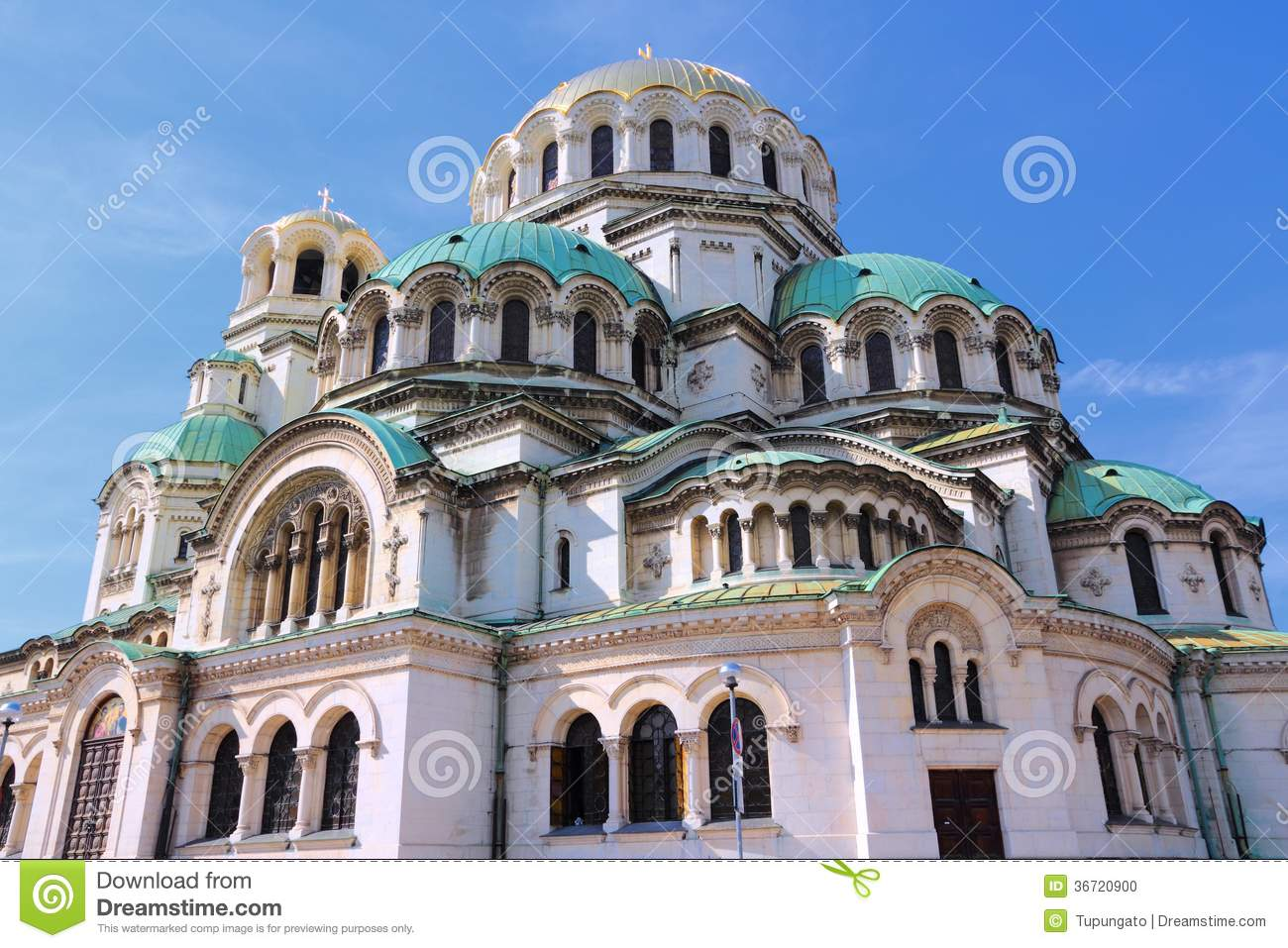 Sofia cathedral stock photo image 36720900 for Architecture byzantine