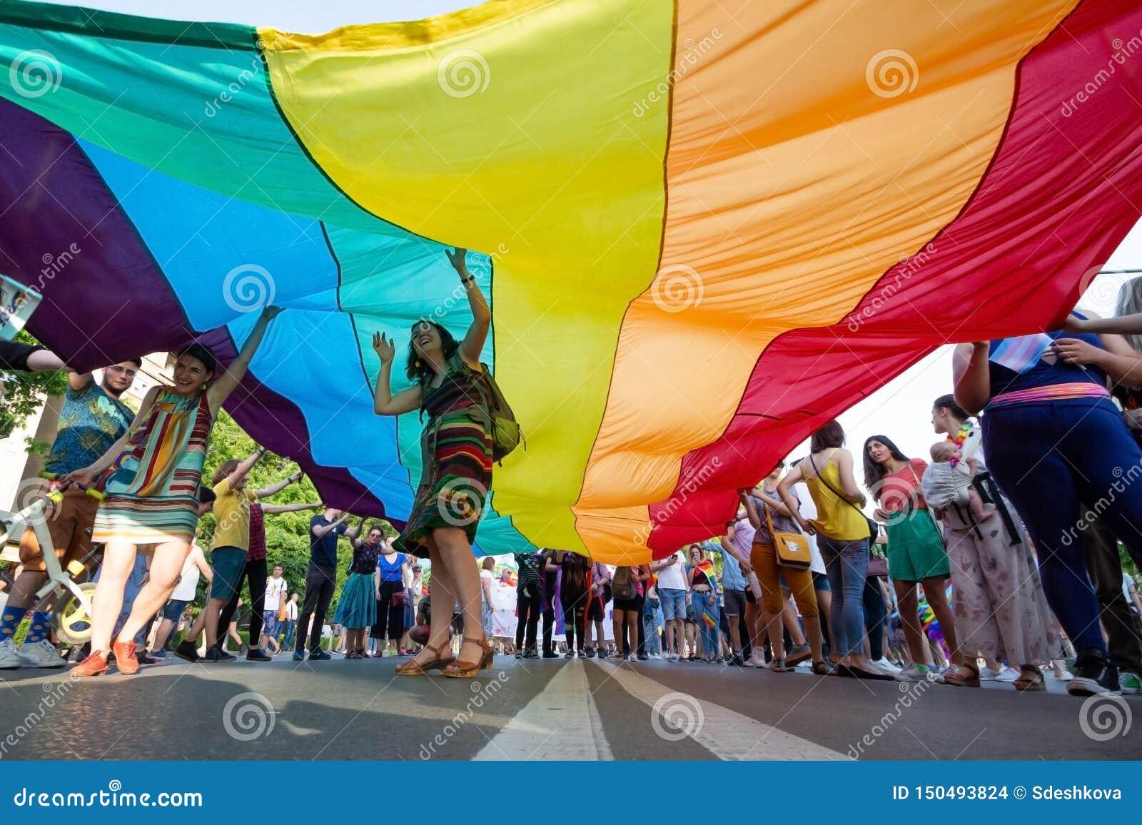 Sofia Pride annual LGBT festival