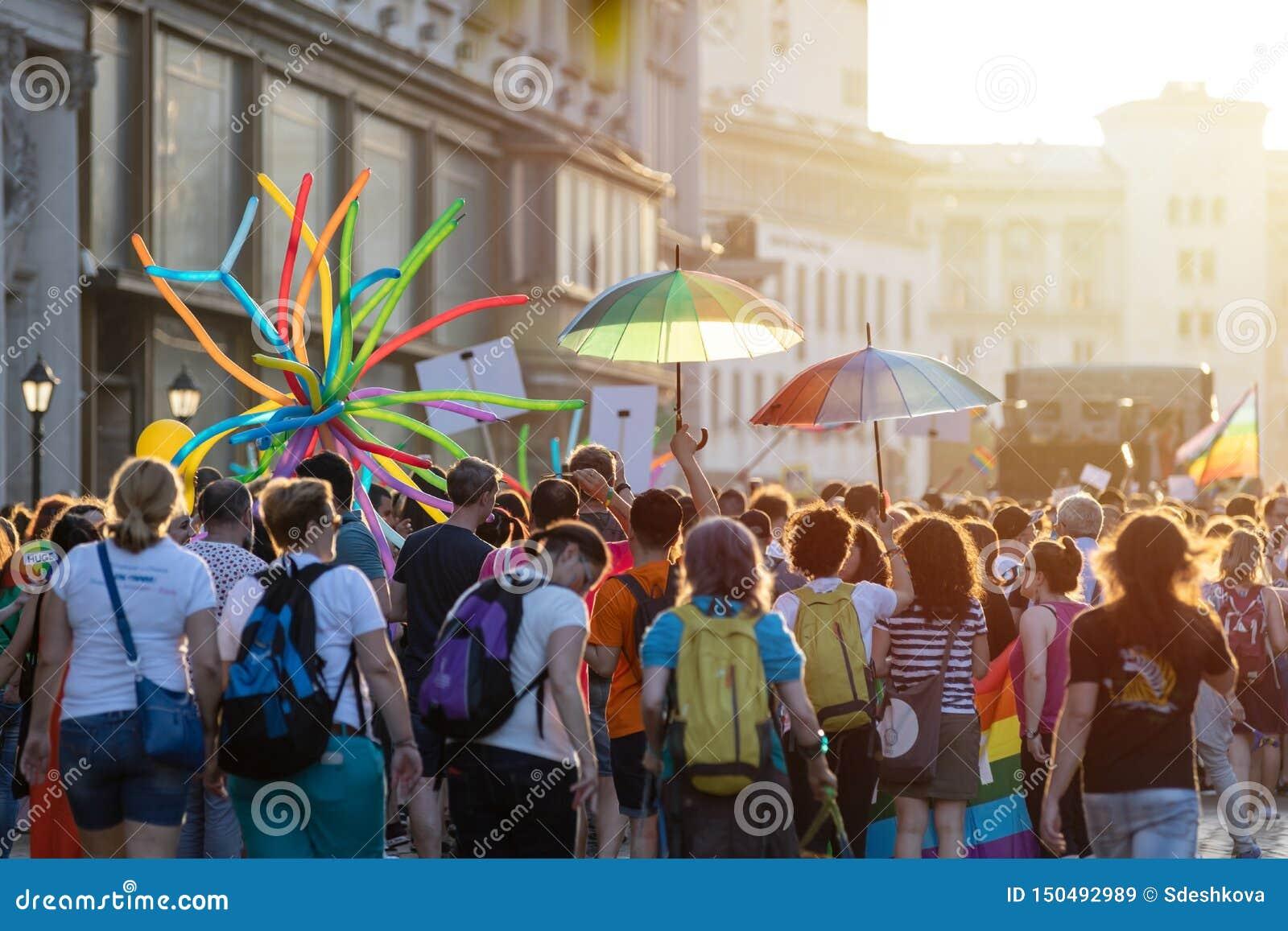 Sofia Pride Parade Participants