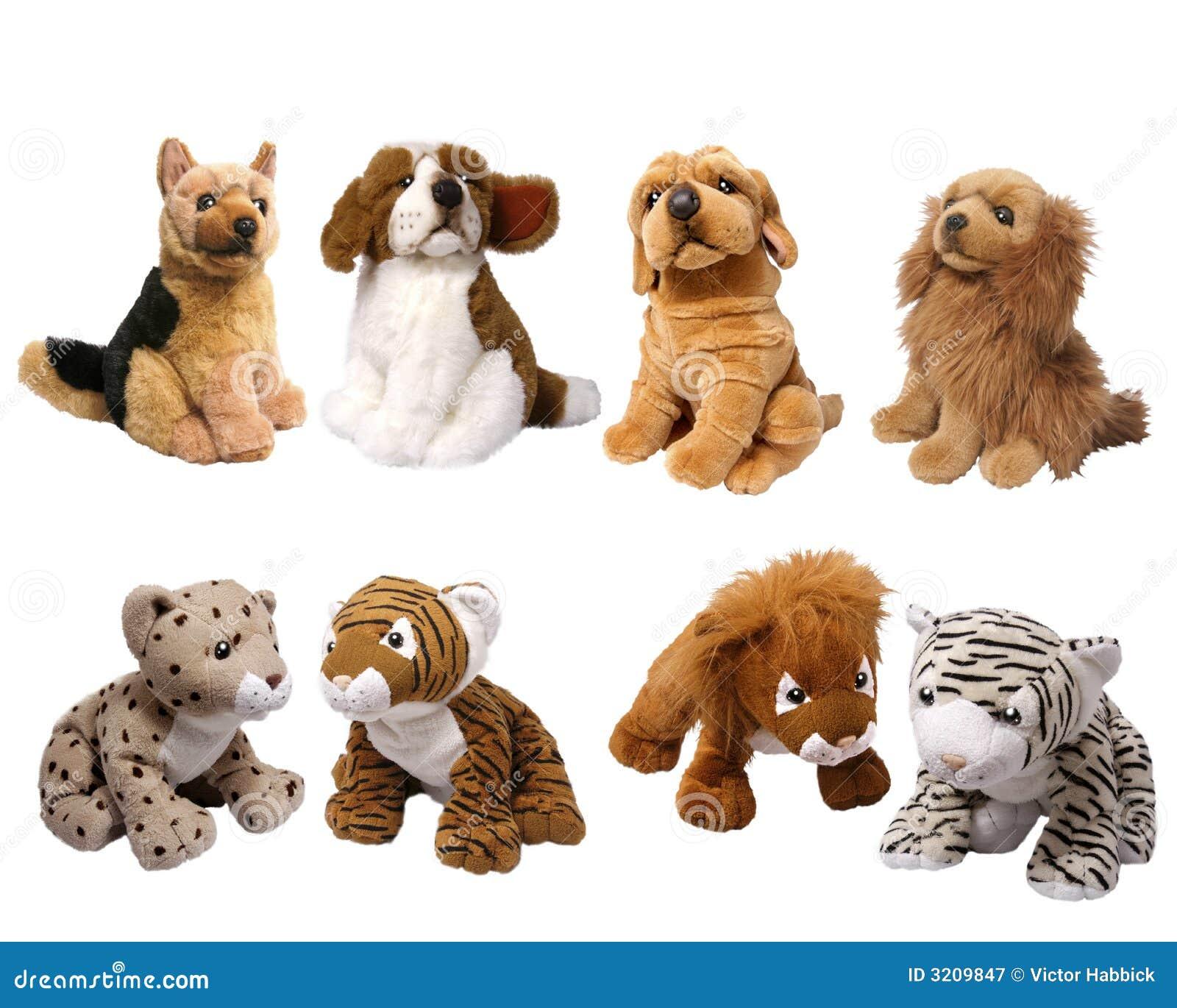 Soft Animal Toys Royalty Free Stock Photography Image