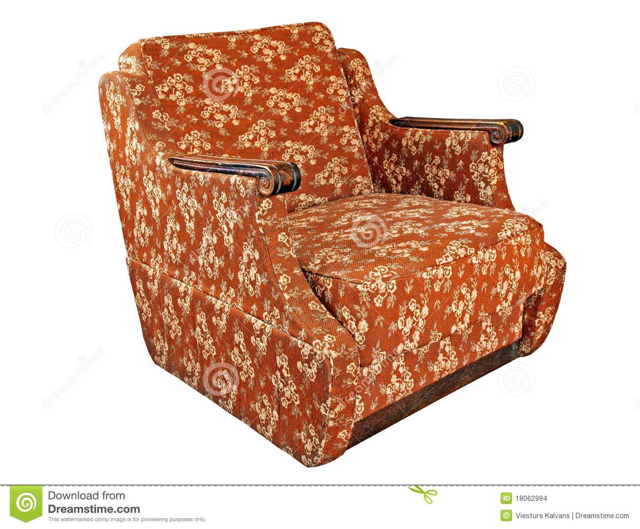 Soft armchair stock photo. Image of resting, isolated ...