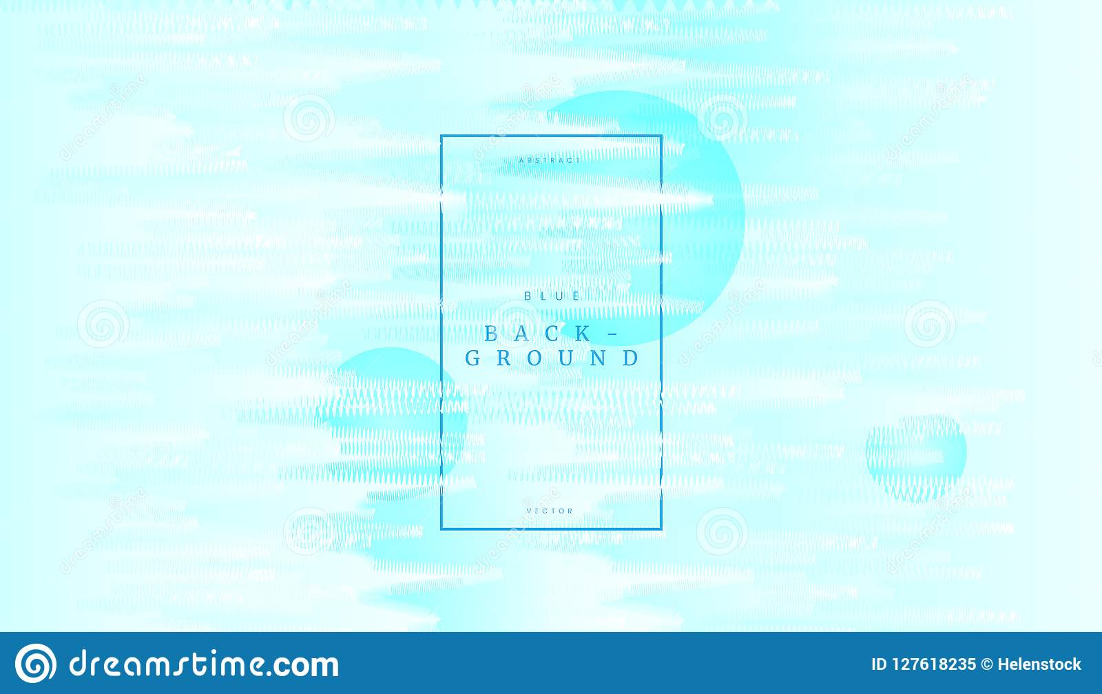 Soft Blue Abstract Wave Dynamic Background With Curve Zigzag