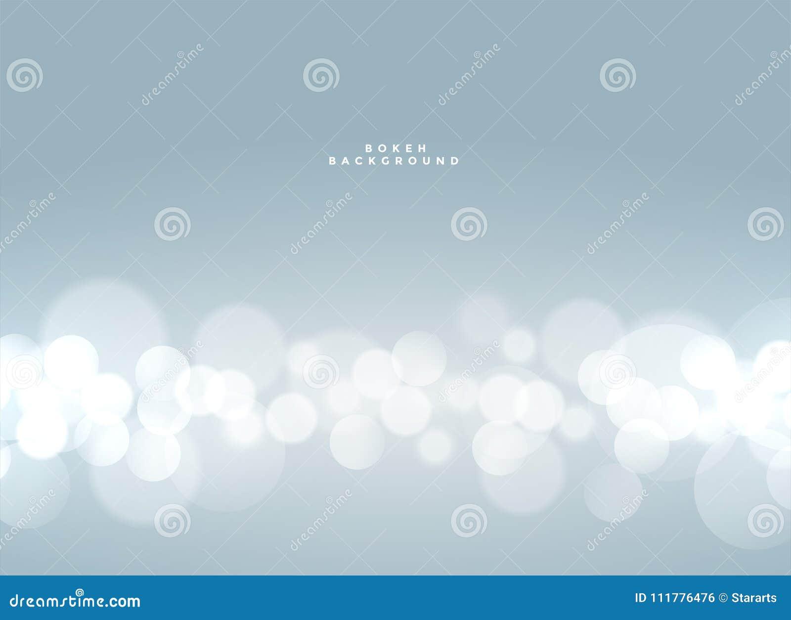 soft blue bokeh defocused light effect background