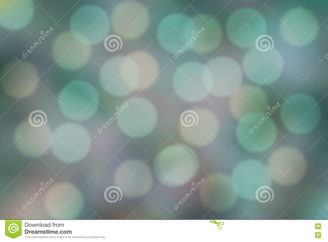 Soft Blurred Colorful Background With Bokeh Abstract