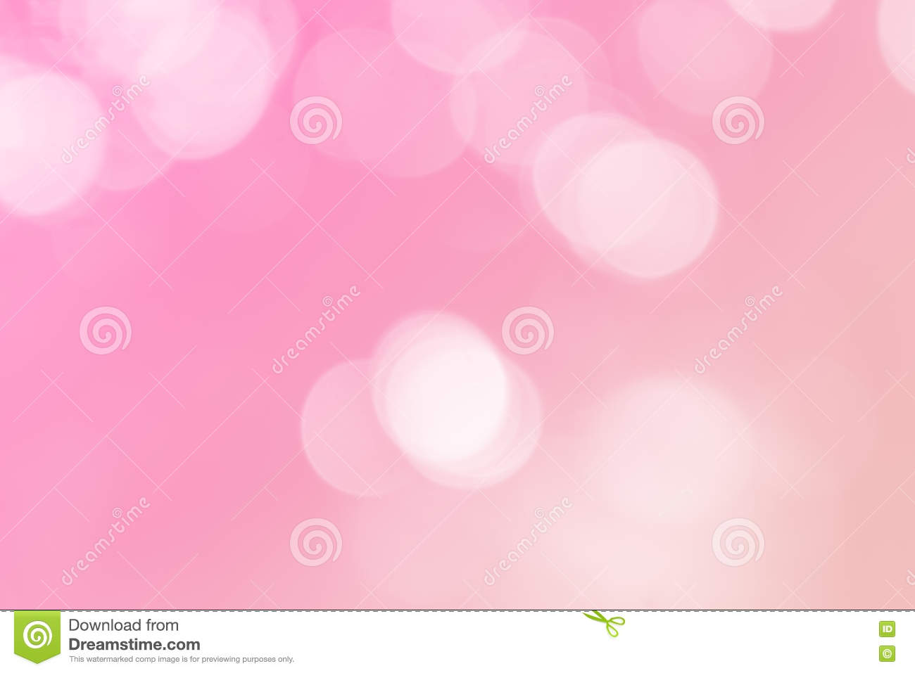 Soft Blurred Sweet Candy Pastel Background With Natural Bokeh Stock
