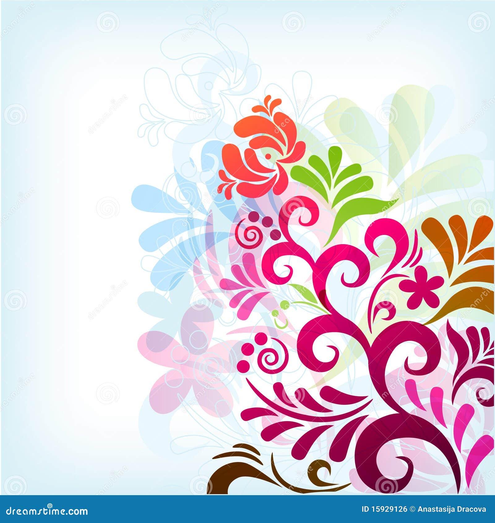 illustration soft floral - photo #18