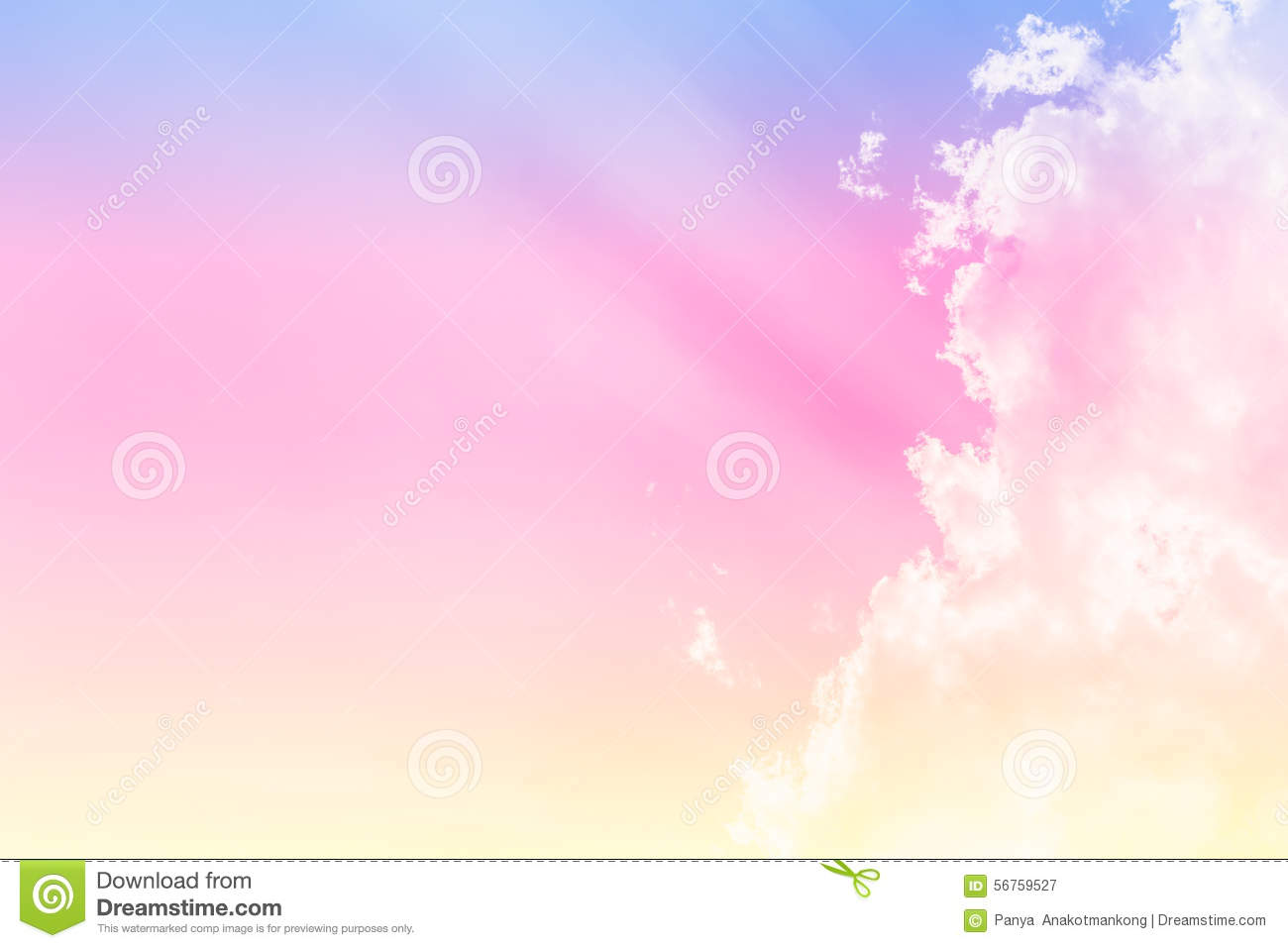 Background image and color - Soft Cloud Background Color