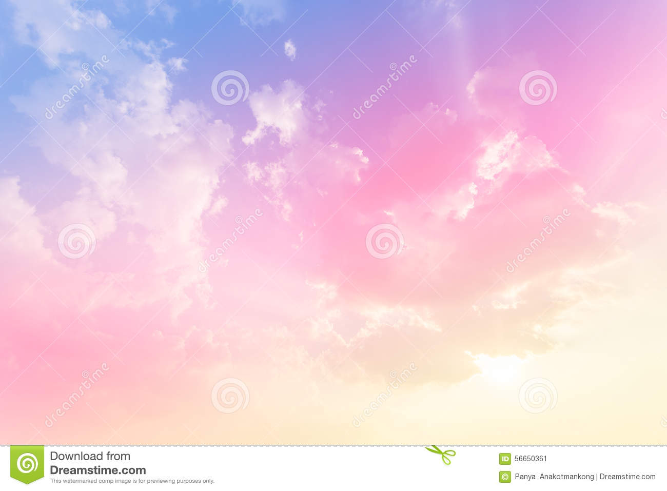Soft Cloud Background ...