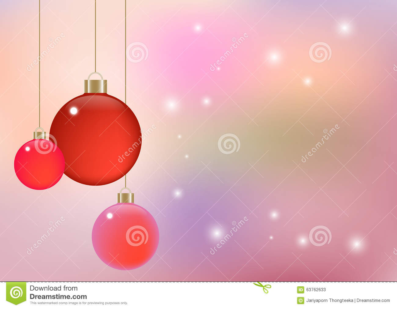 Soft Color Abstract Background Vector Illustration Can Use Christmas Or New Year Party Theme