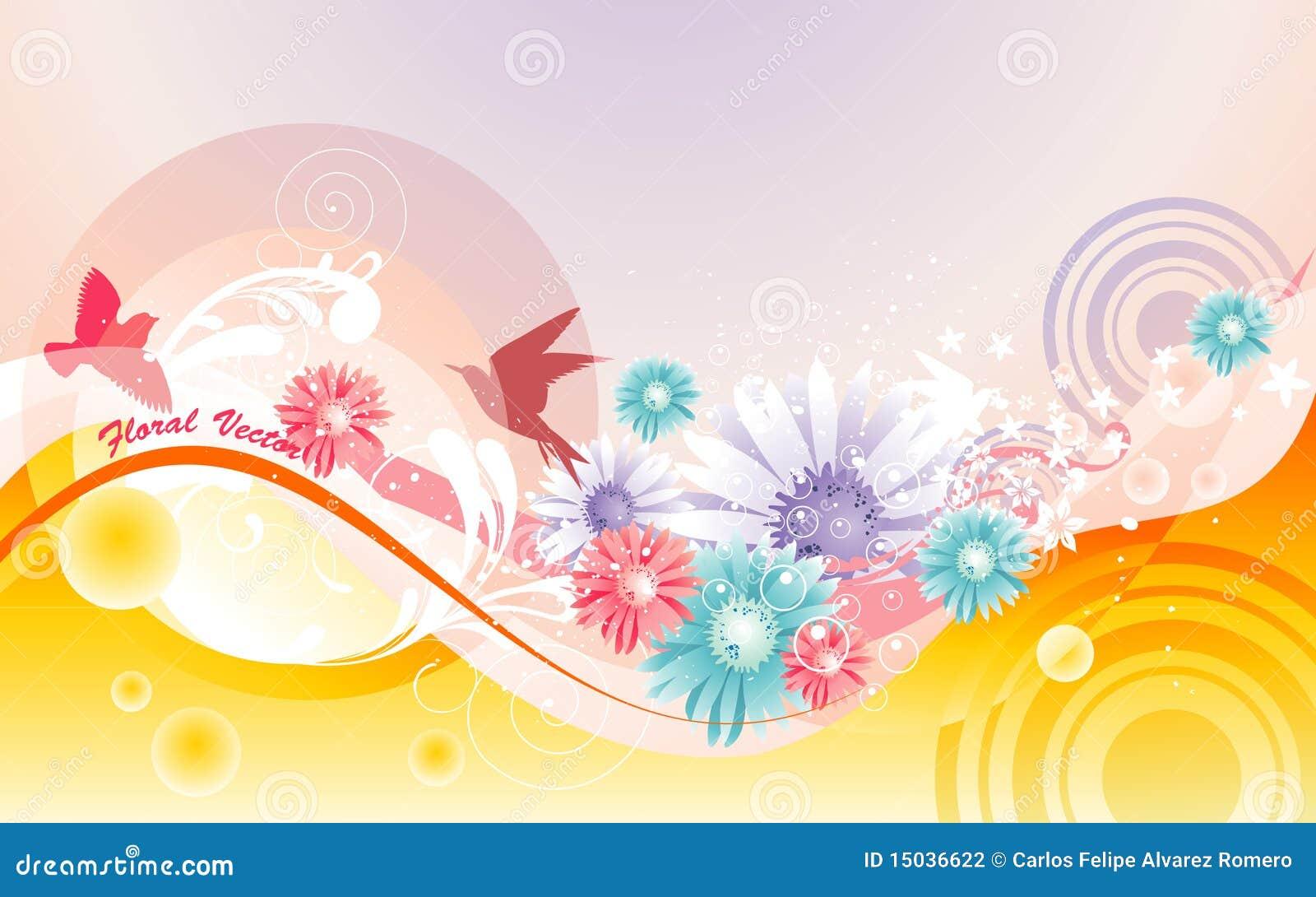 illustration soft floral - photo #37