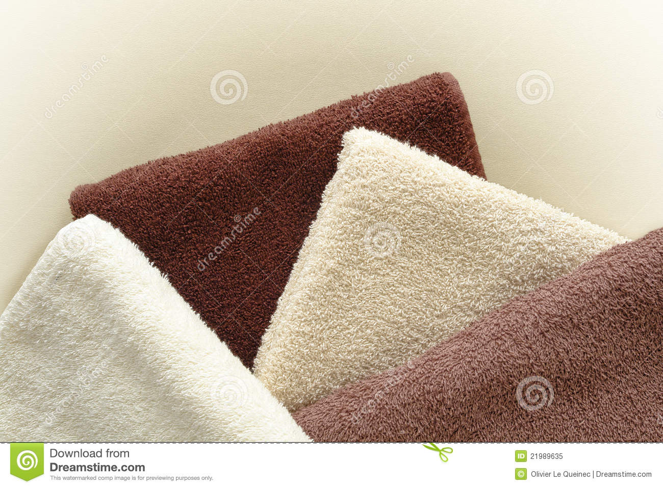 soft and fluffy beige to brown cotton bath towels royalty