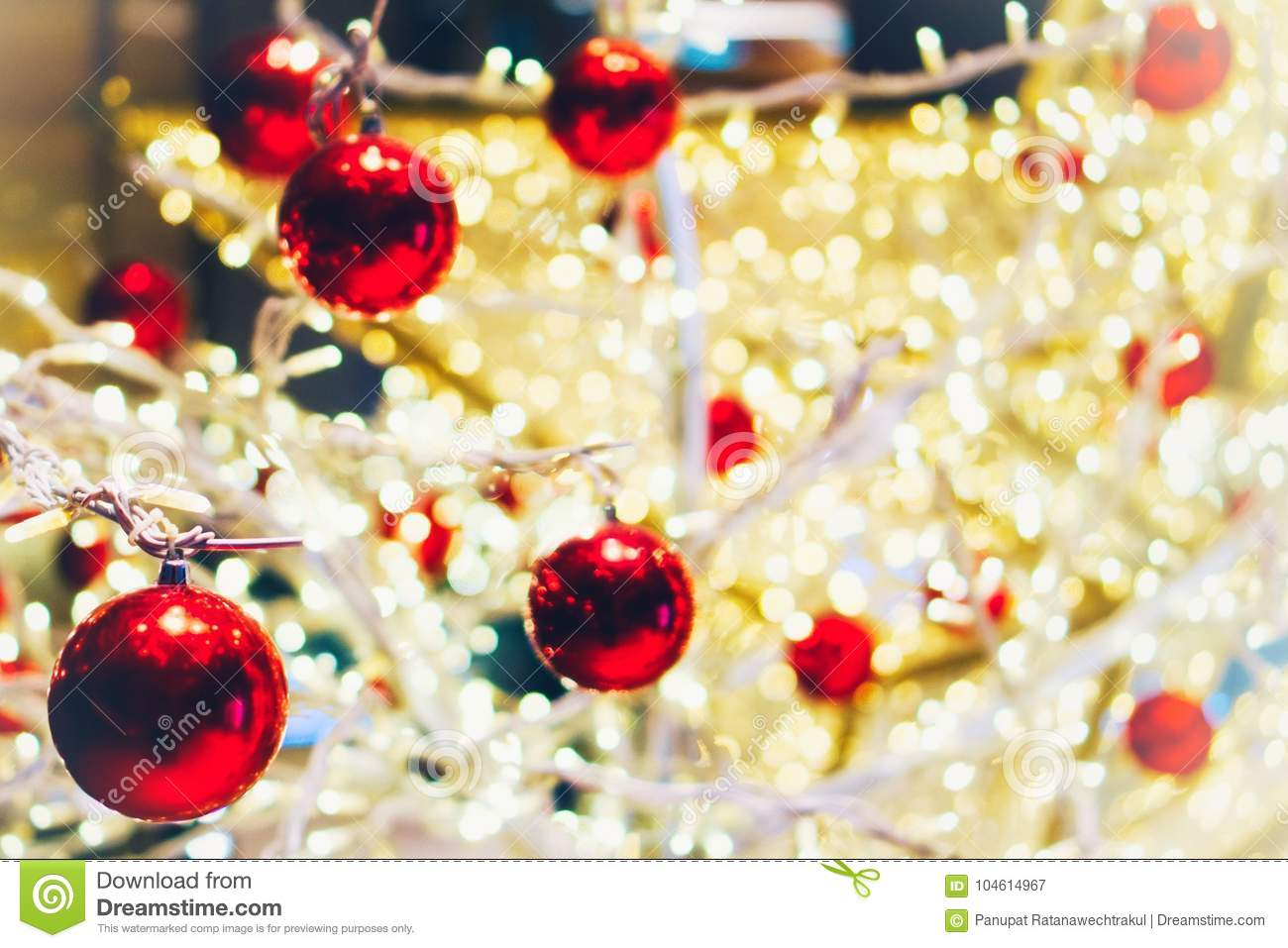 Christmas Wallpaper And New Year Festival Stock Image