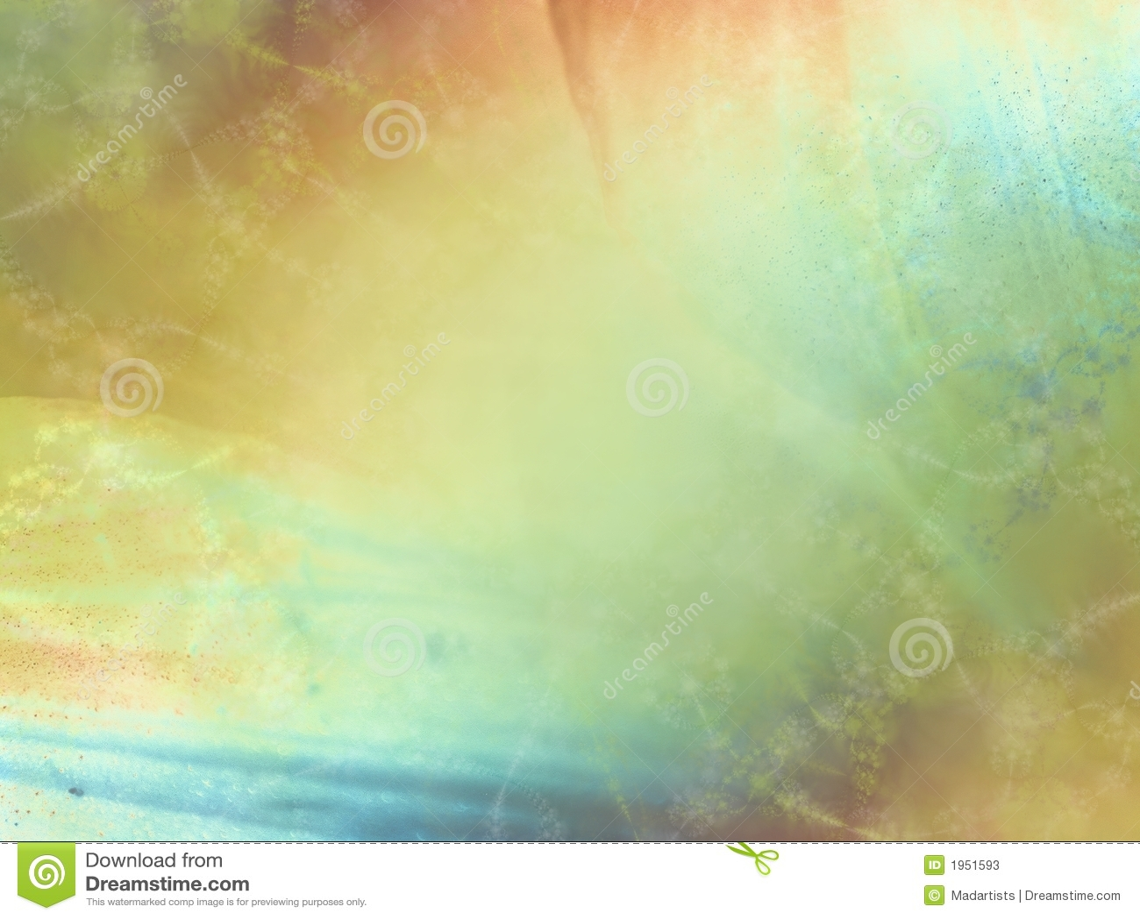 Soft Gold Green Blue Texture Stock Photos - Image: 1951593