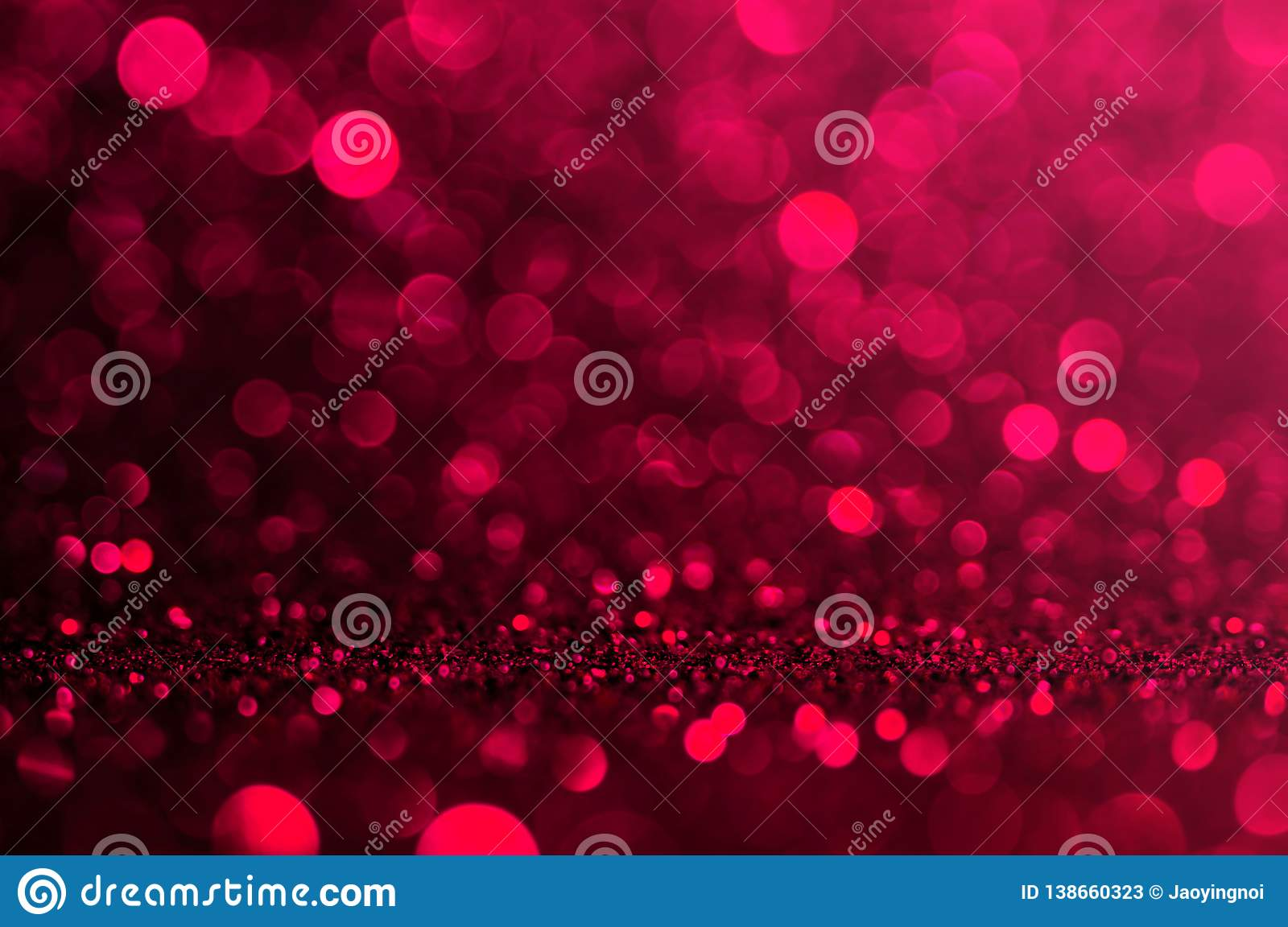 Soft Image Abstract Bokeh Dark Red With Light Background Red