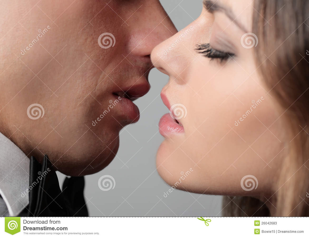Soft Kiss Stock Image Image Of Love, Touch, Girl -8758