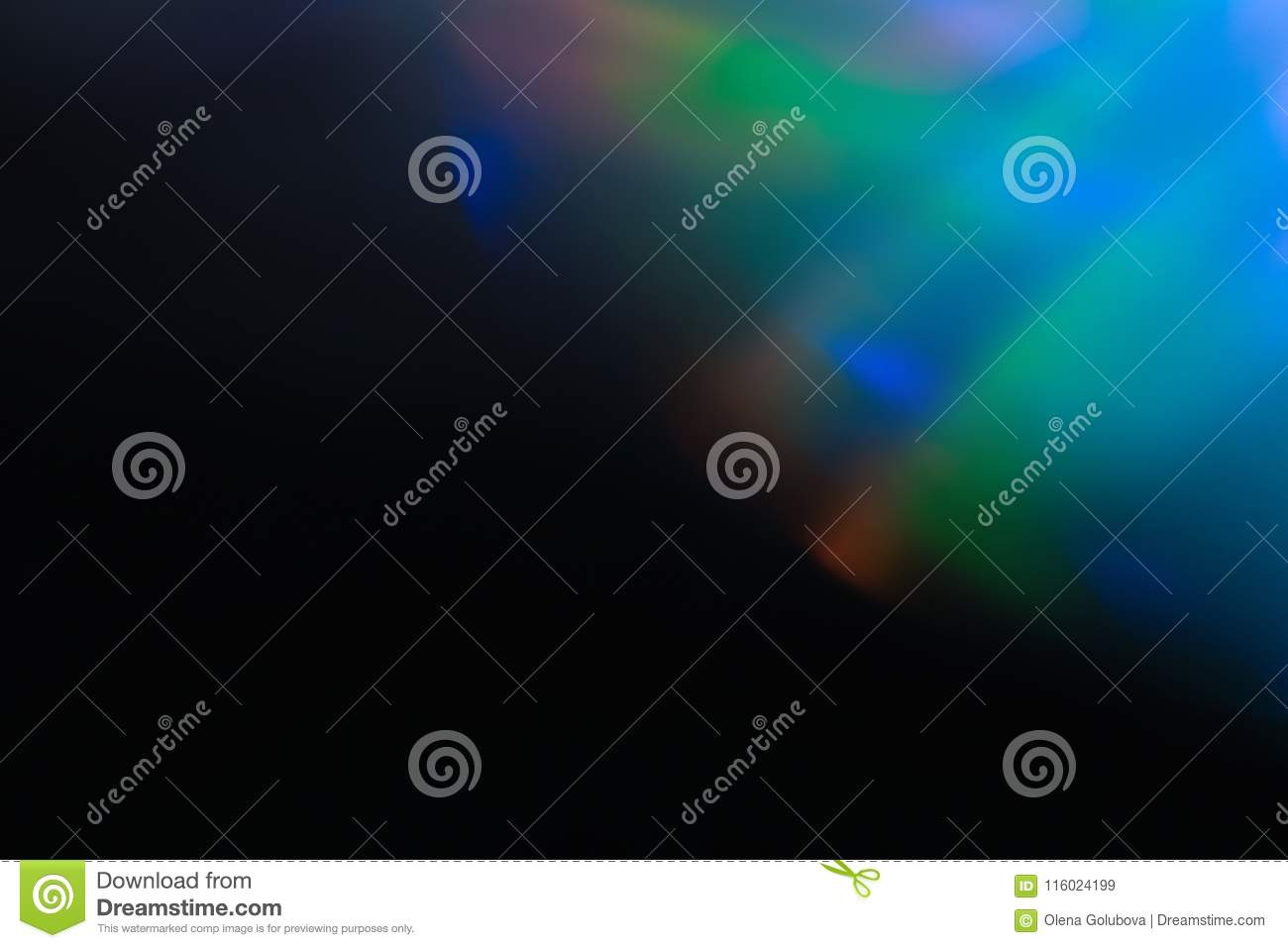 Soft light lens flare abstract shine arty simple
