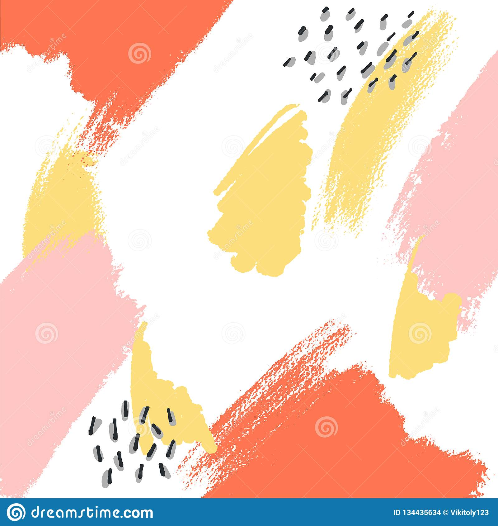 Soft Pastel Bright Colored Calm Abstract Background For