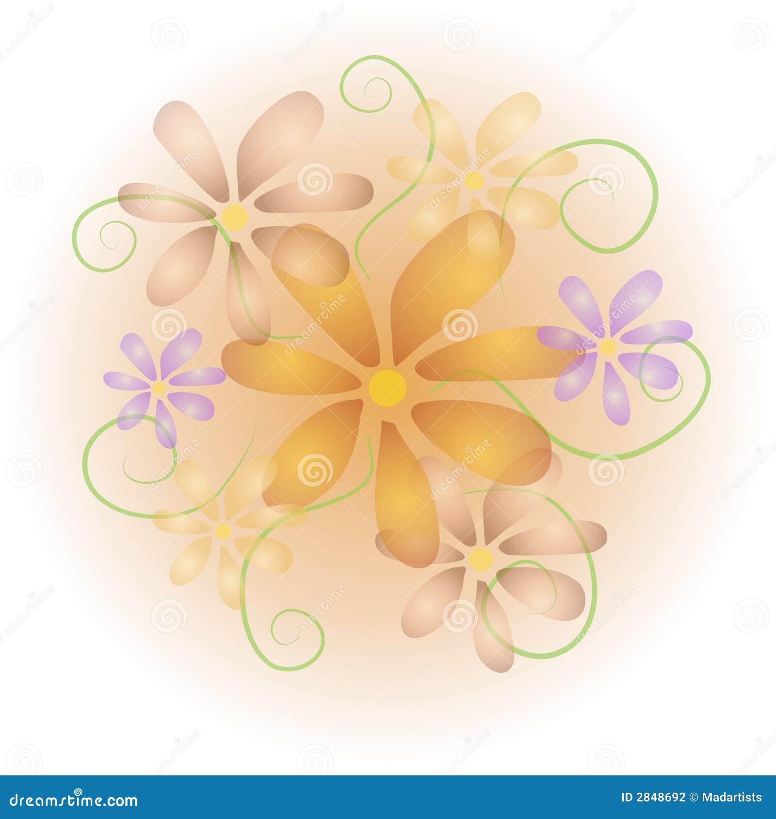 illustration soft floral - photo #49